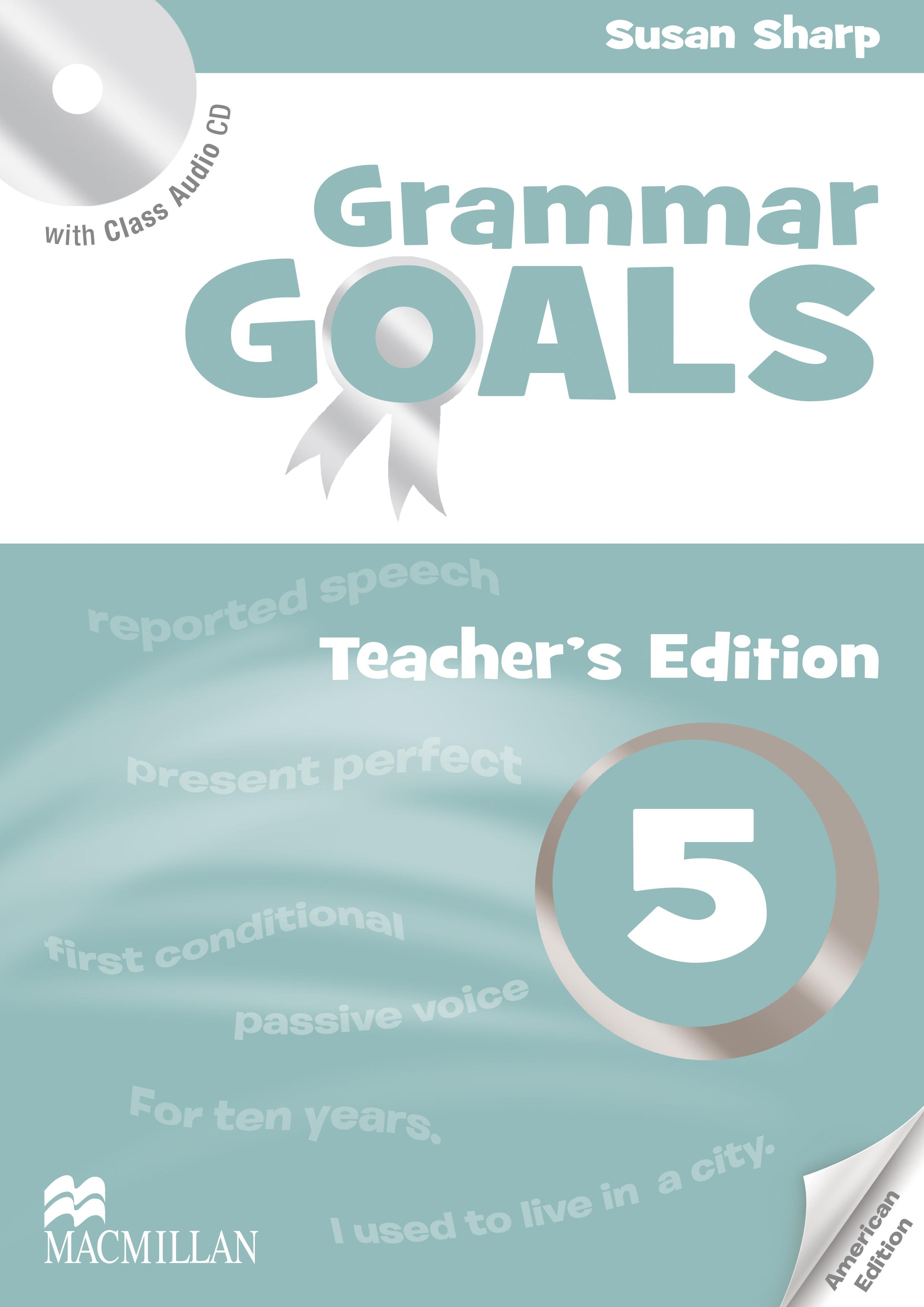 American Grammar Goals Level 5 Teacher