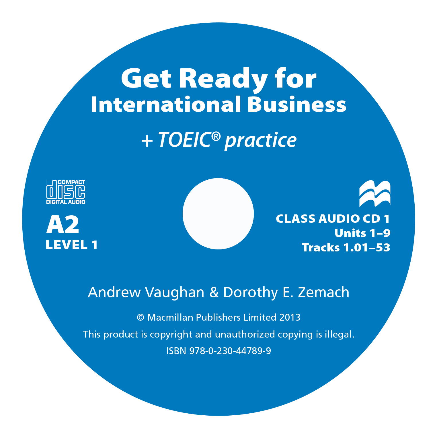 Get Ready For International Business 1 Class Audio CD - TOEIC