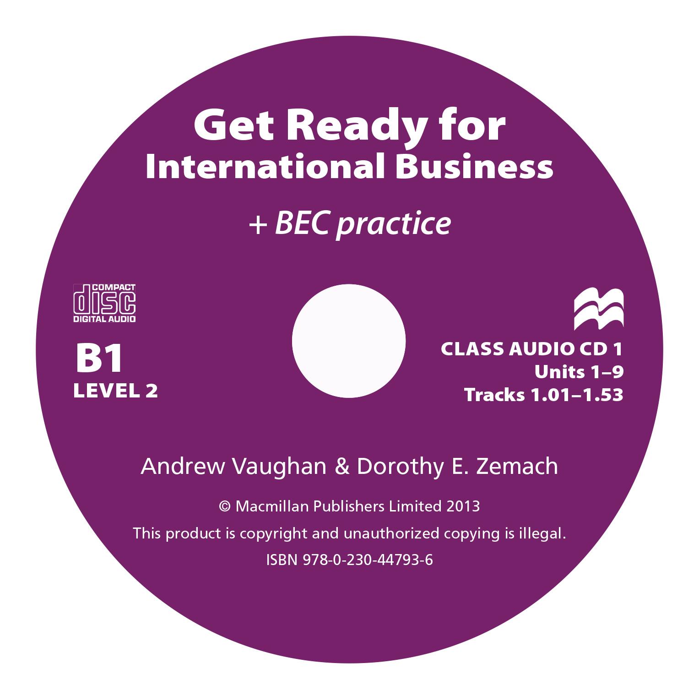 Get Ready For International Business 2 Class Audio CD BEC