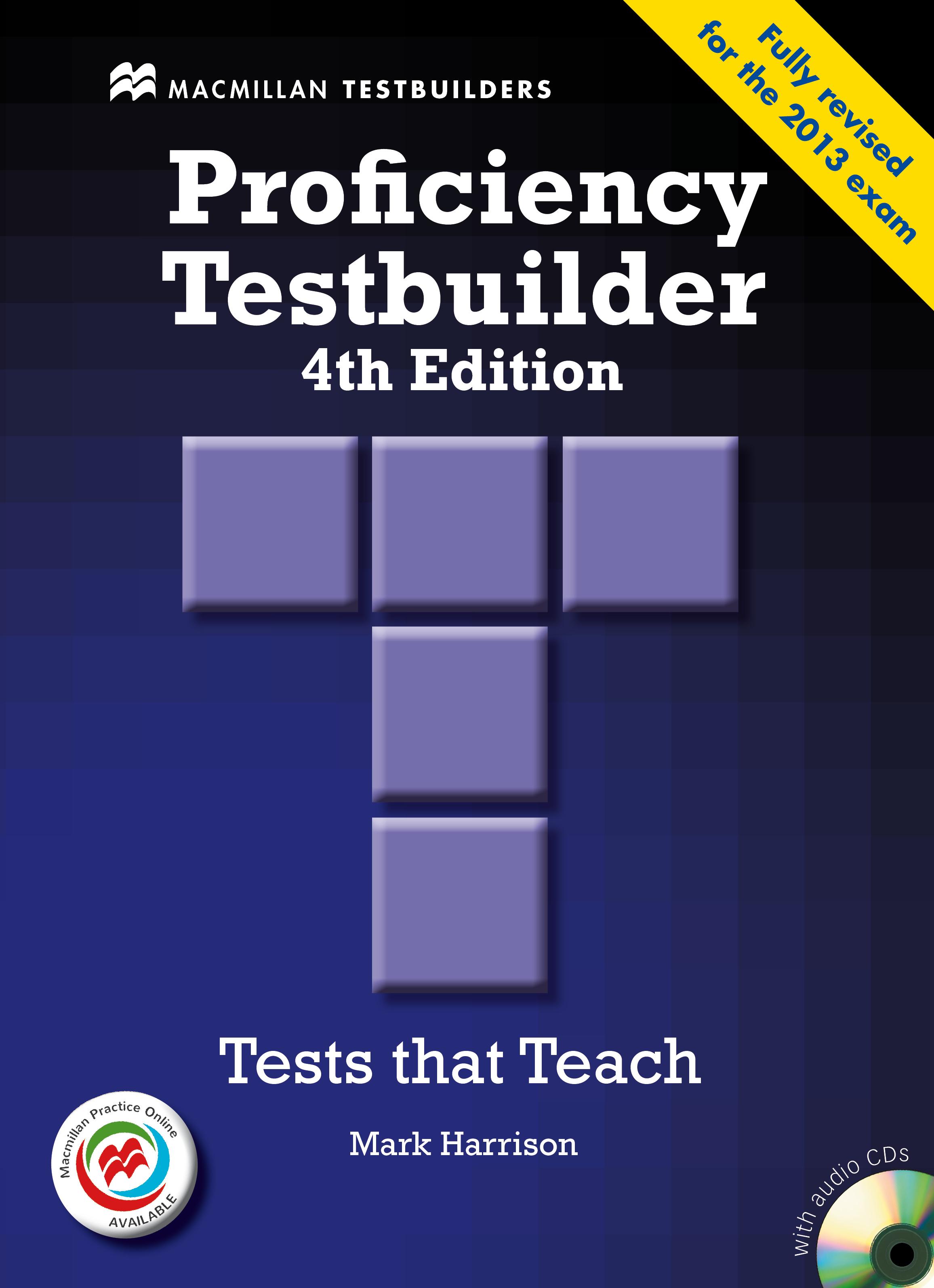 New Proficiency Testbuilder + Macmillan Practice Online without Key