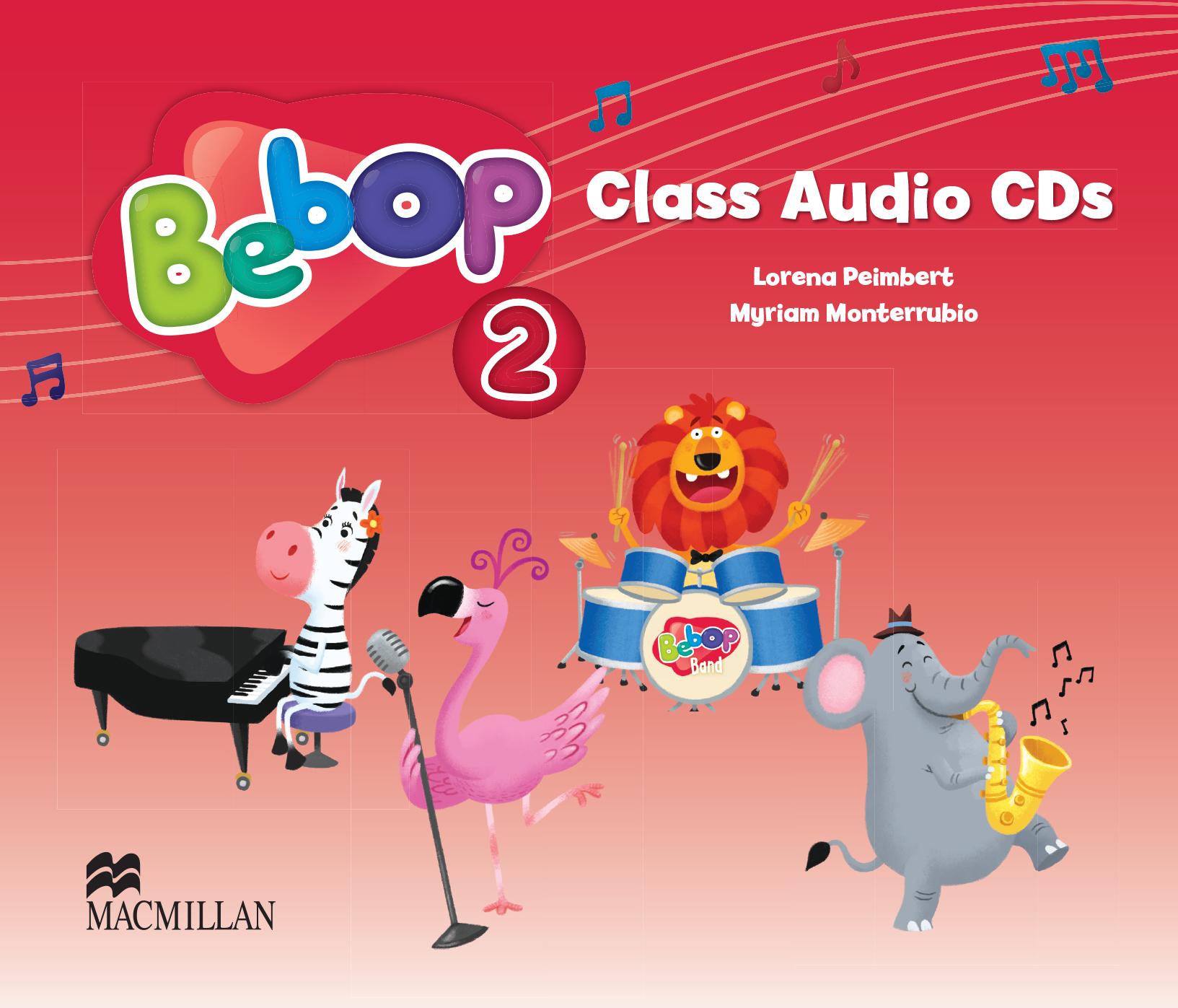 Bebop Level 2 Class Audio CD