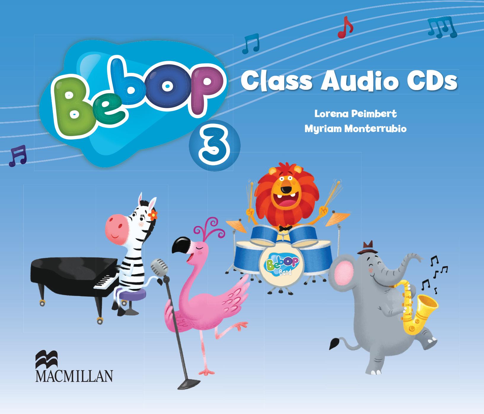 Bebop Level 3 Class Audio CD