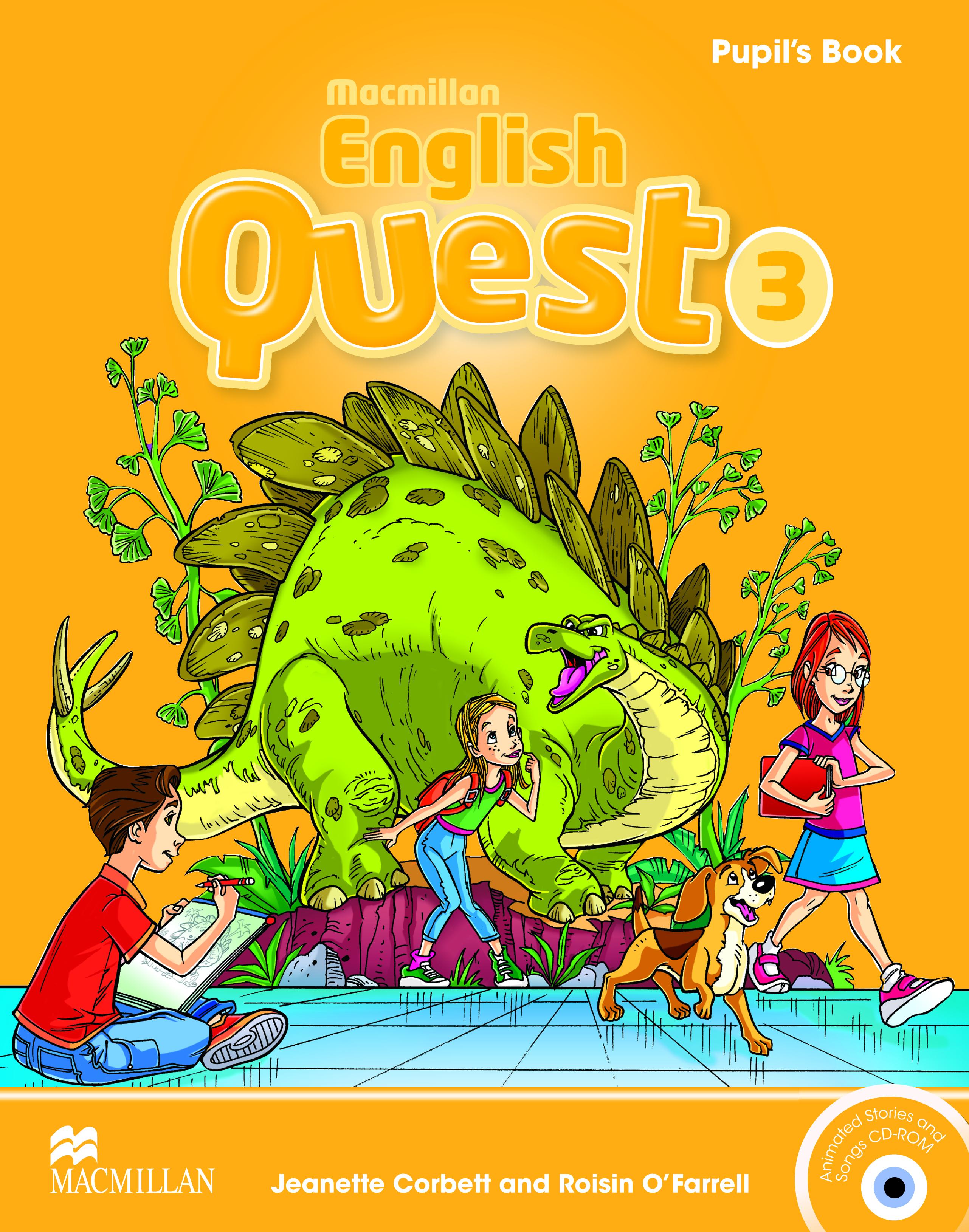 Macmillan English Quest 3 Pupil