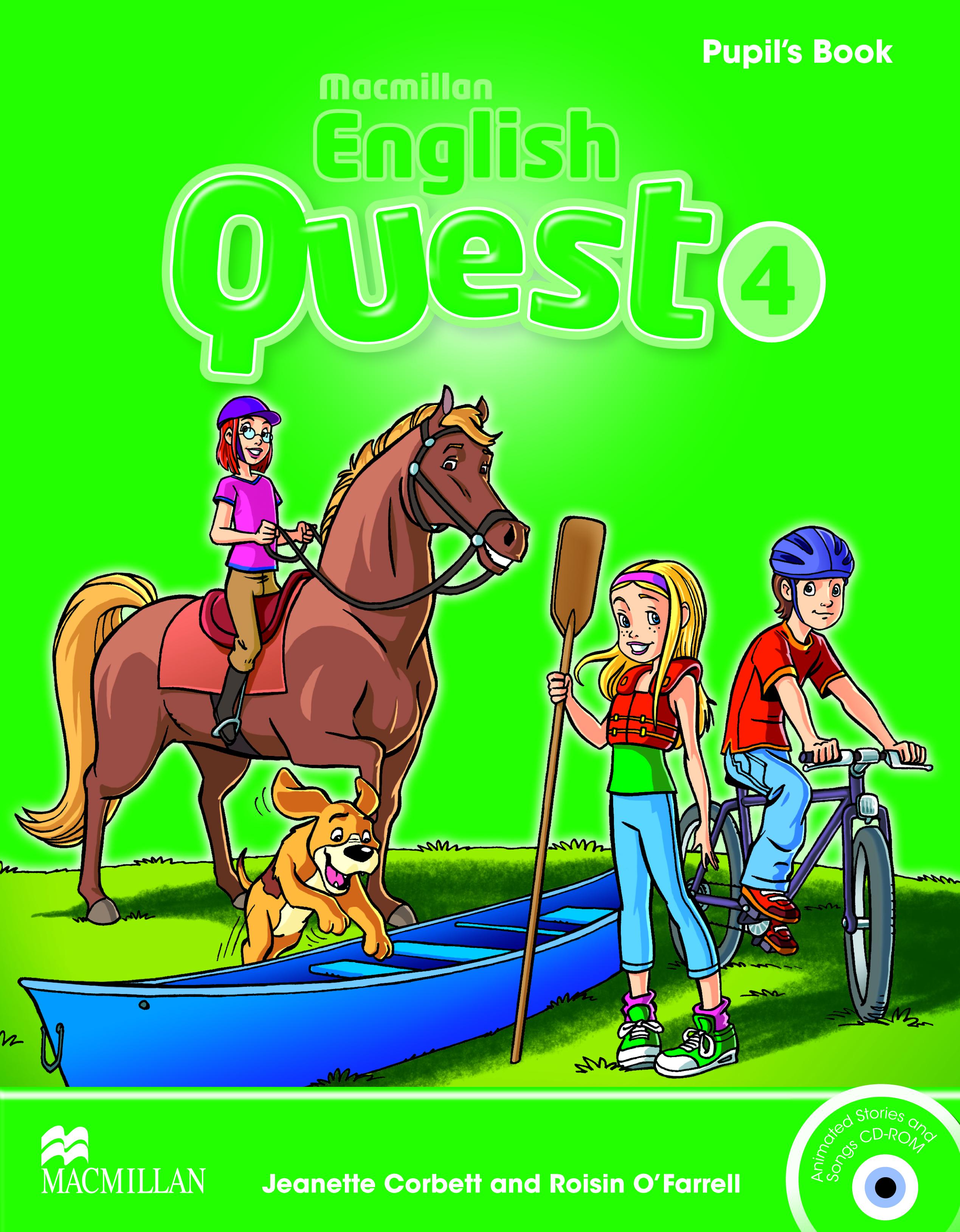 Macmillan English Quest 4 Pupil