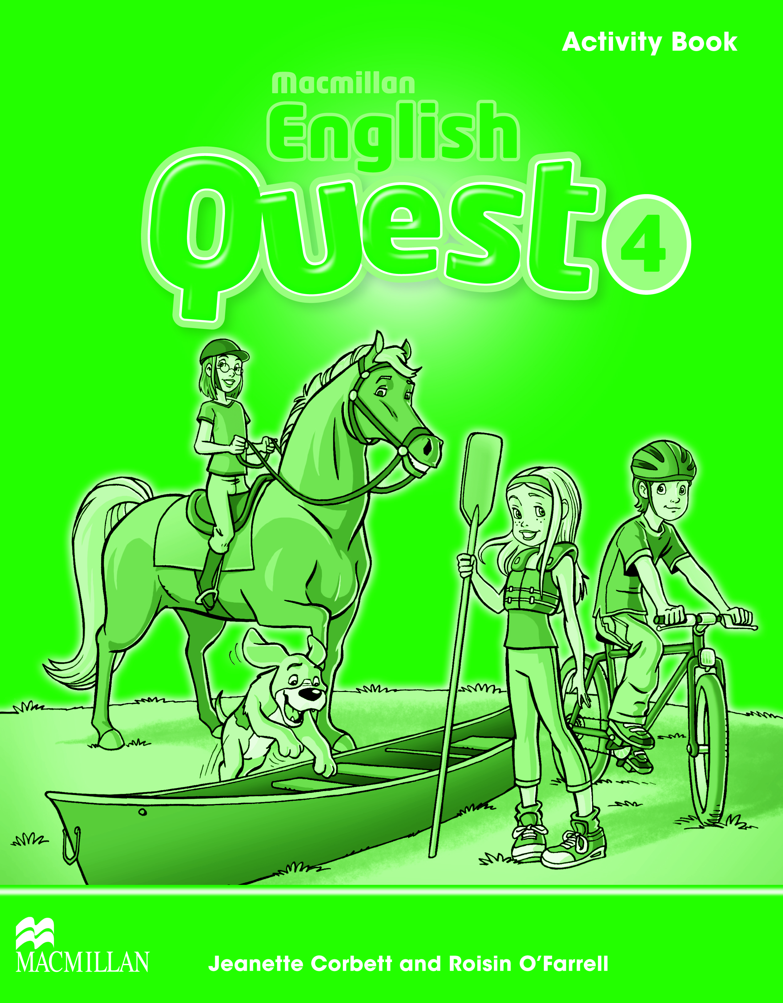 Macmillan English Quest 4 Activity Book
