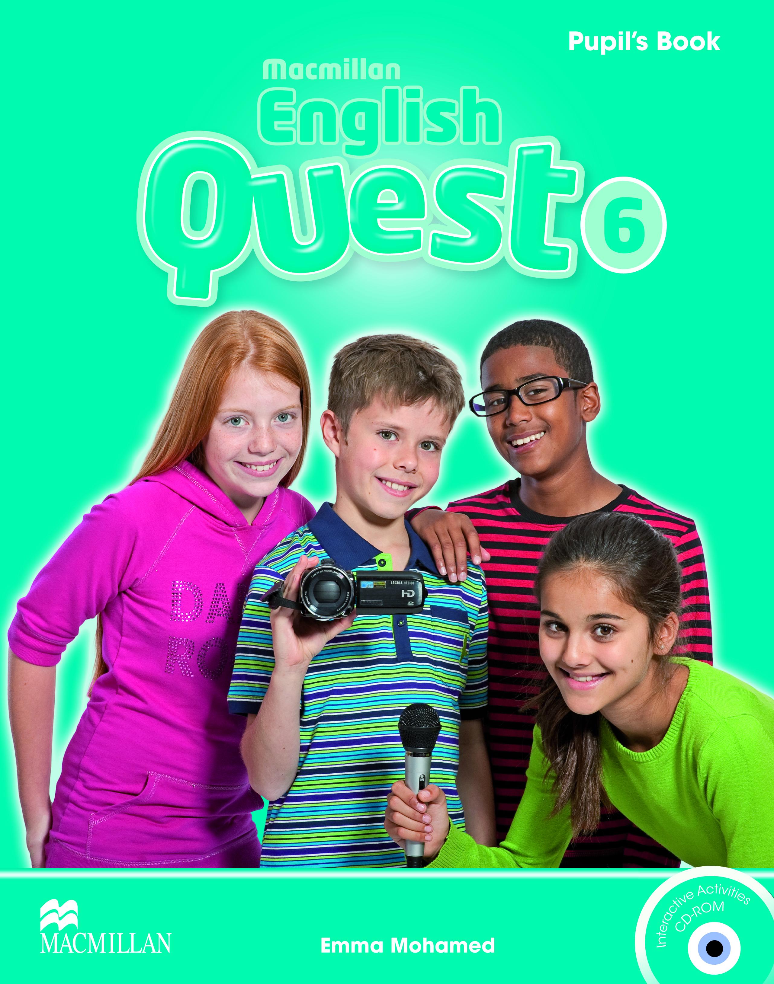 Macmillan English Quest 6 Pupil
