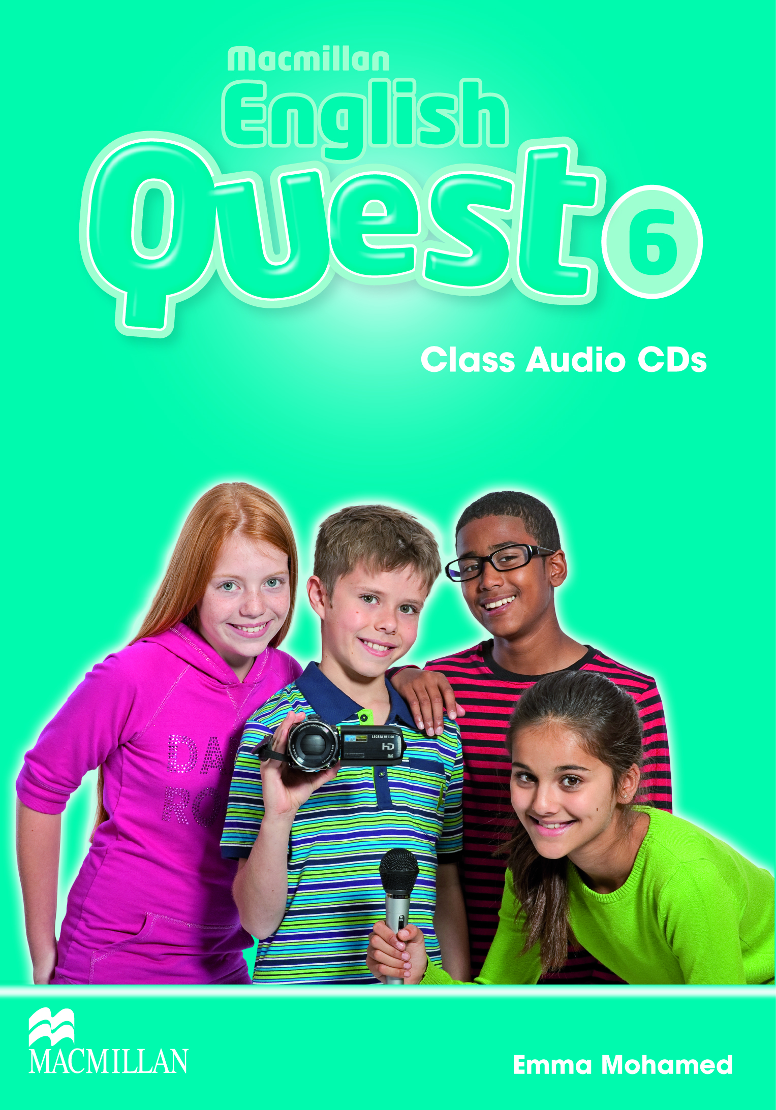 Macmillan English Quest 6 Class Audio CDs