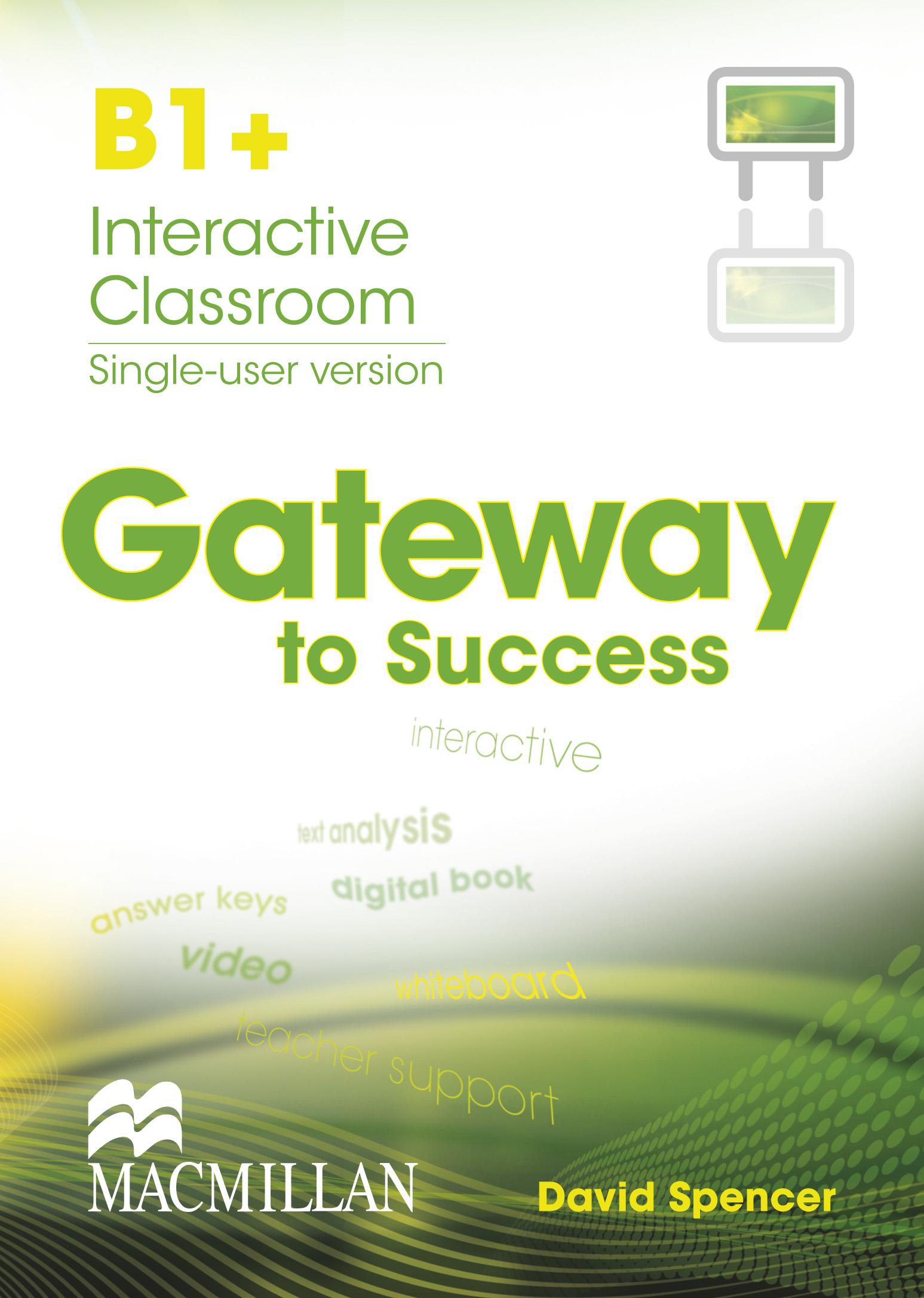Gateway to Success B2+ Student