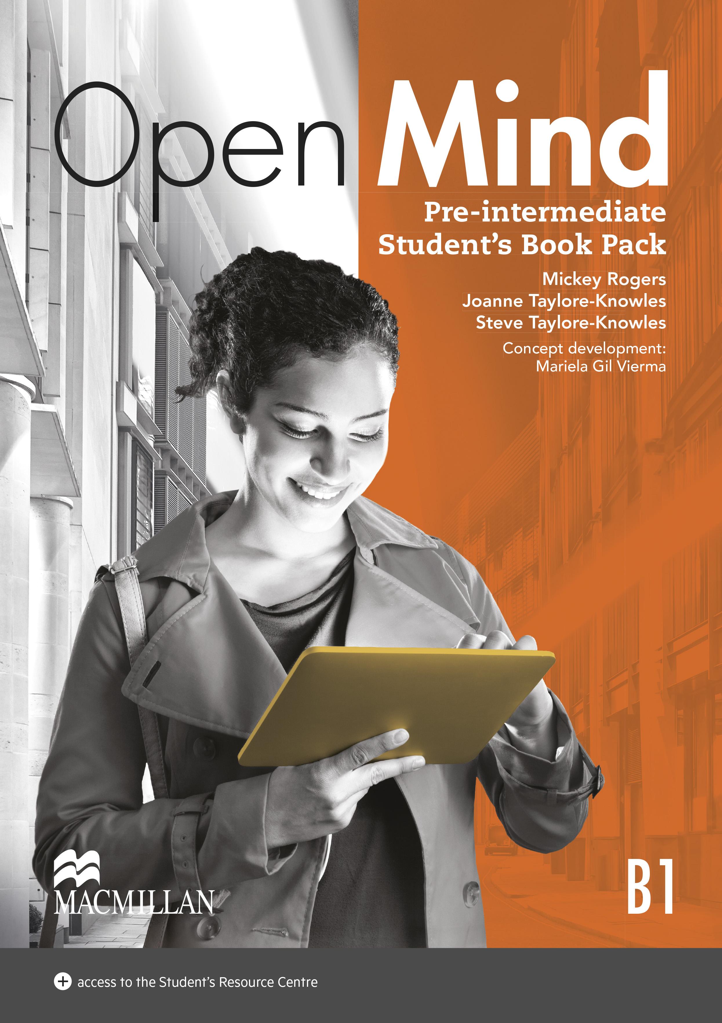 Open Mind Pre-Intermediate Student