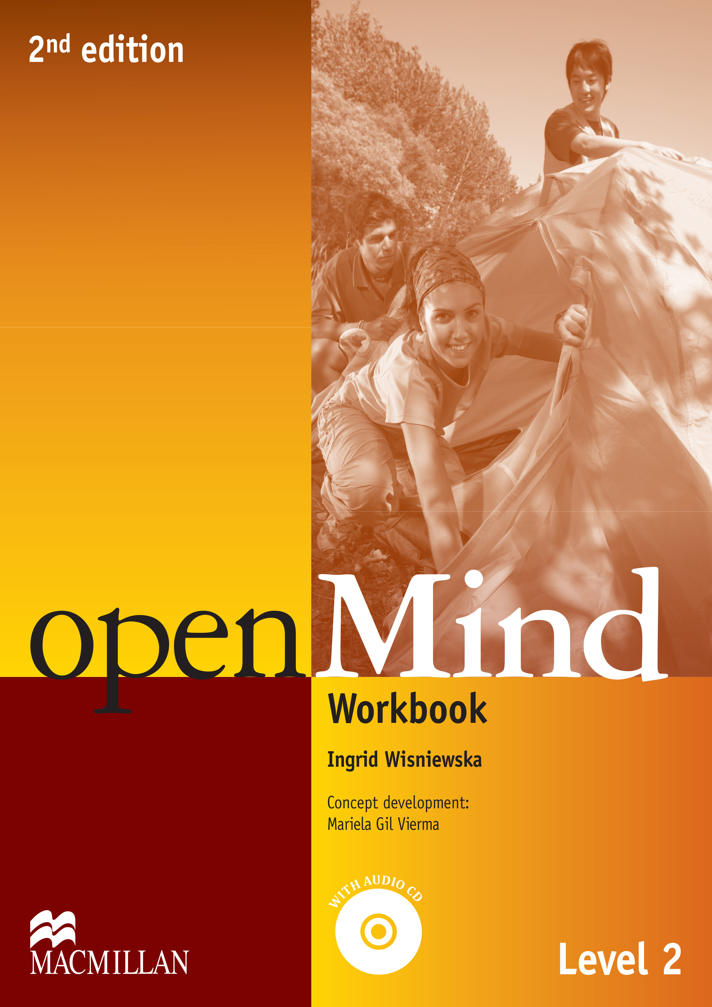 openMind 2nd Edition Level 2 Workbook with CD (without Key)