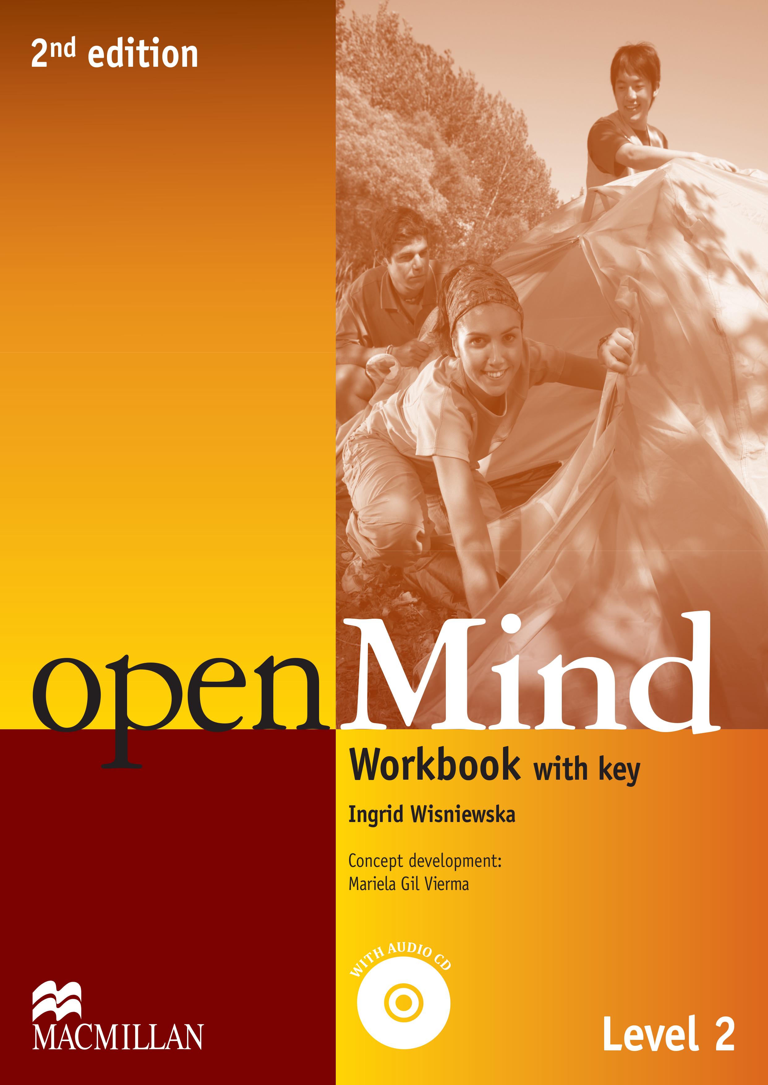 openMind 2nd Edition Level 2 Workbook with CD and Key