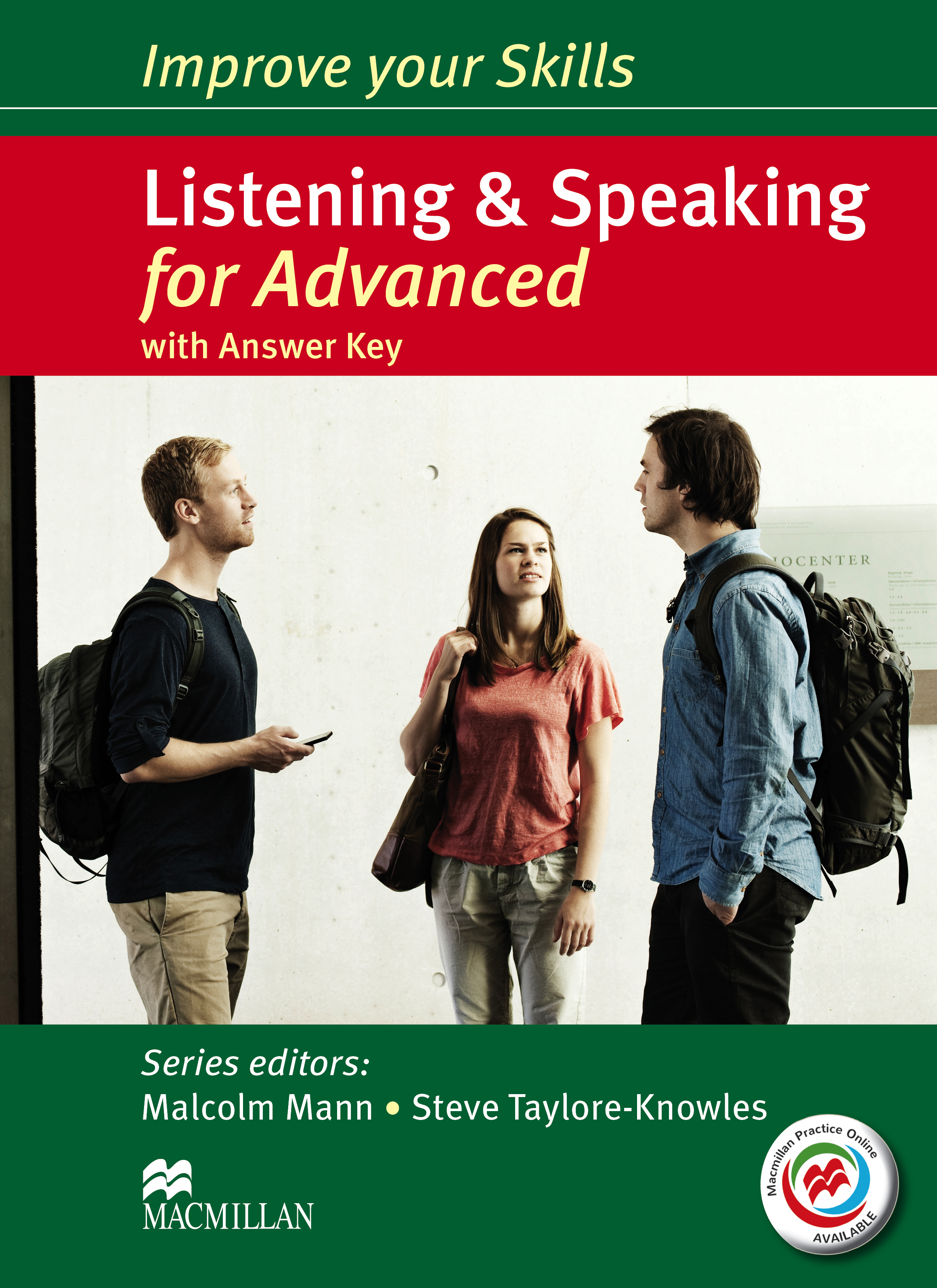 Improve your Skills for Advanced Listening & Speaking Student