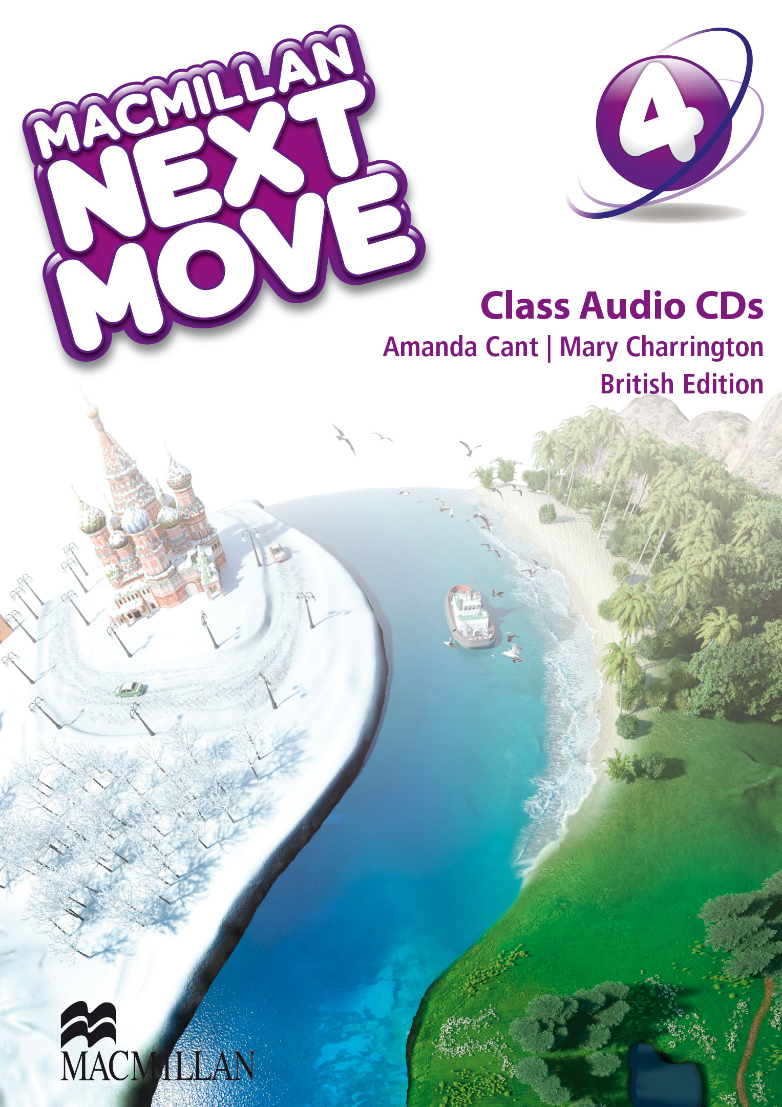 Macmillan Next Move Level 4 Class Audio CD