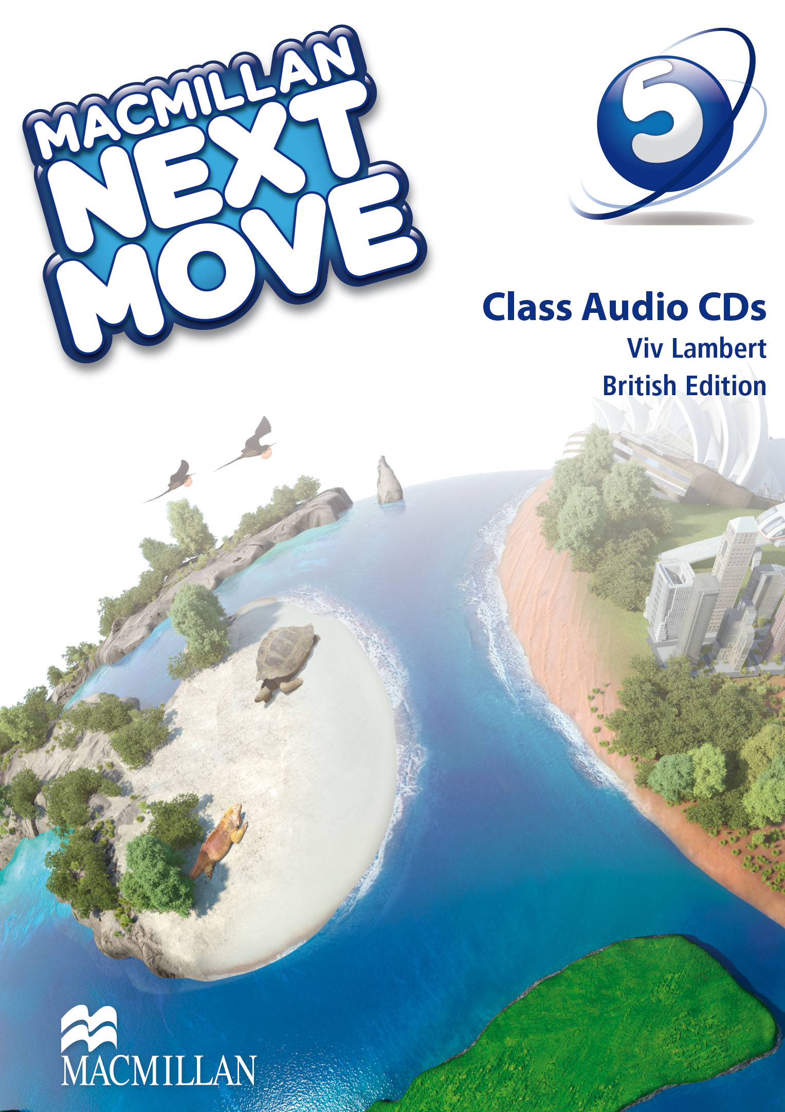 Macmillan Next Move Level 5 Class Audio CD