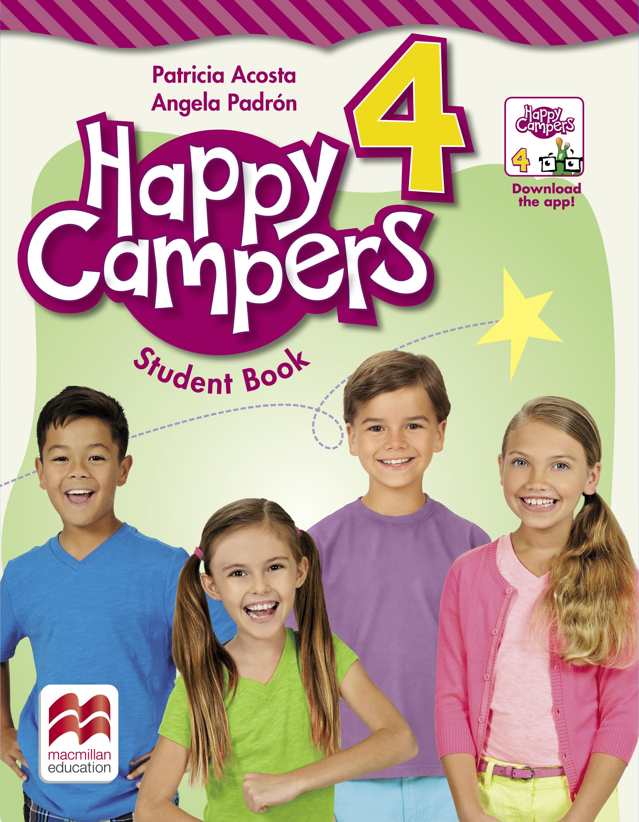 Happy Campers Level 4 Student Flipbook