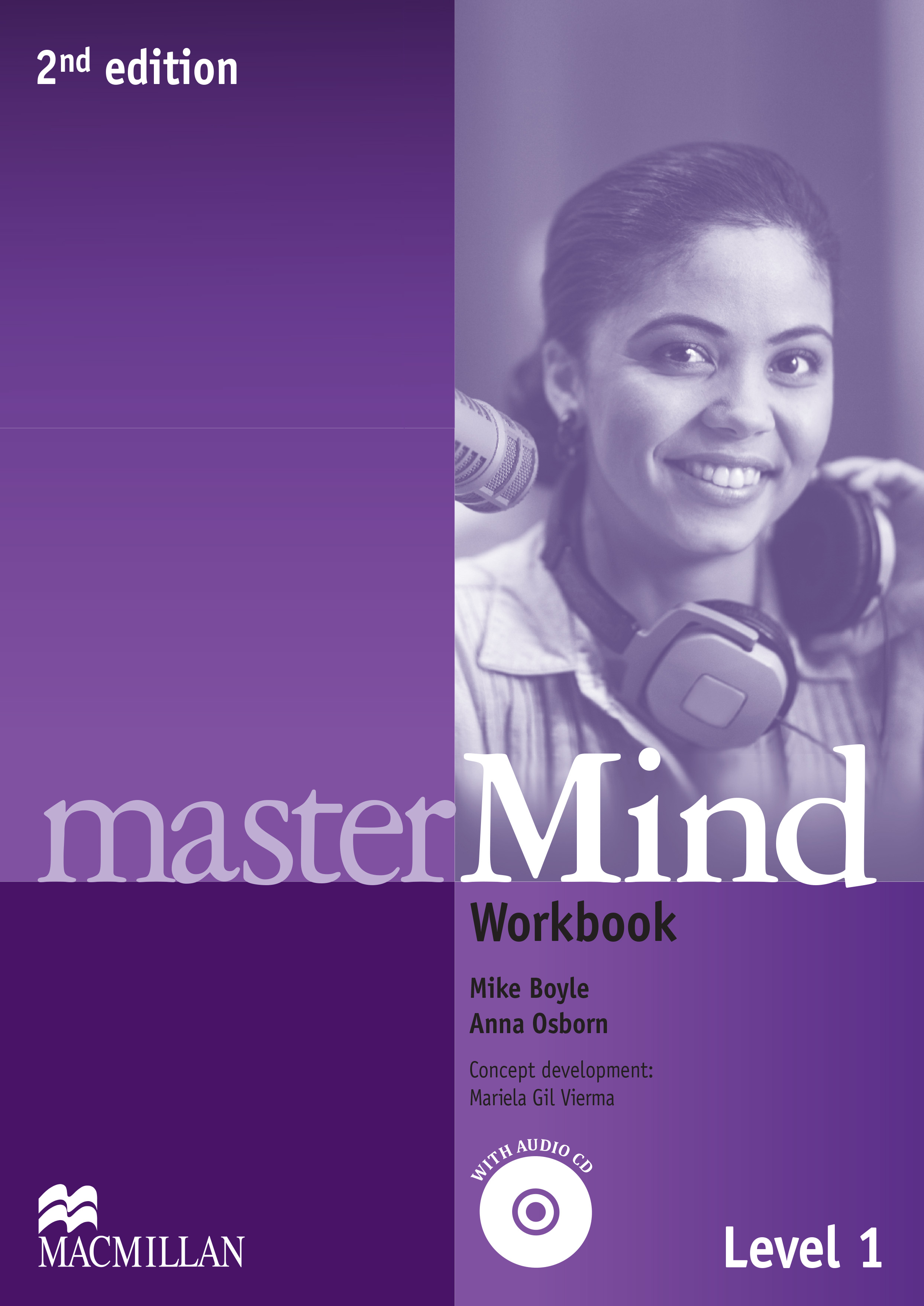 masterMind 2nd Edition Level 1 Workbook and CD Pack without key