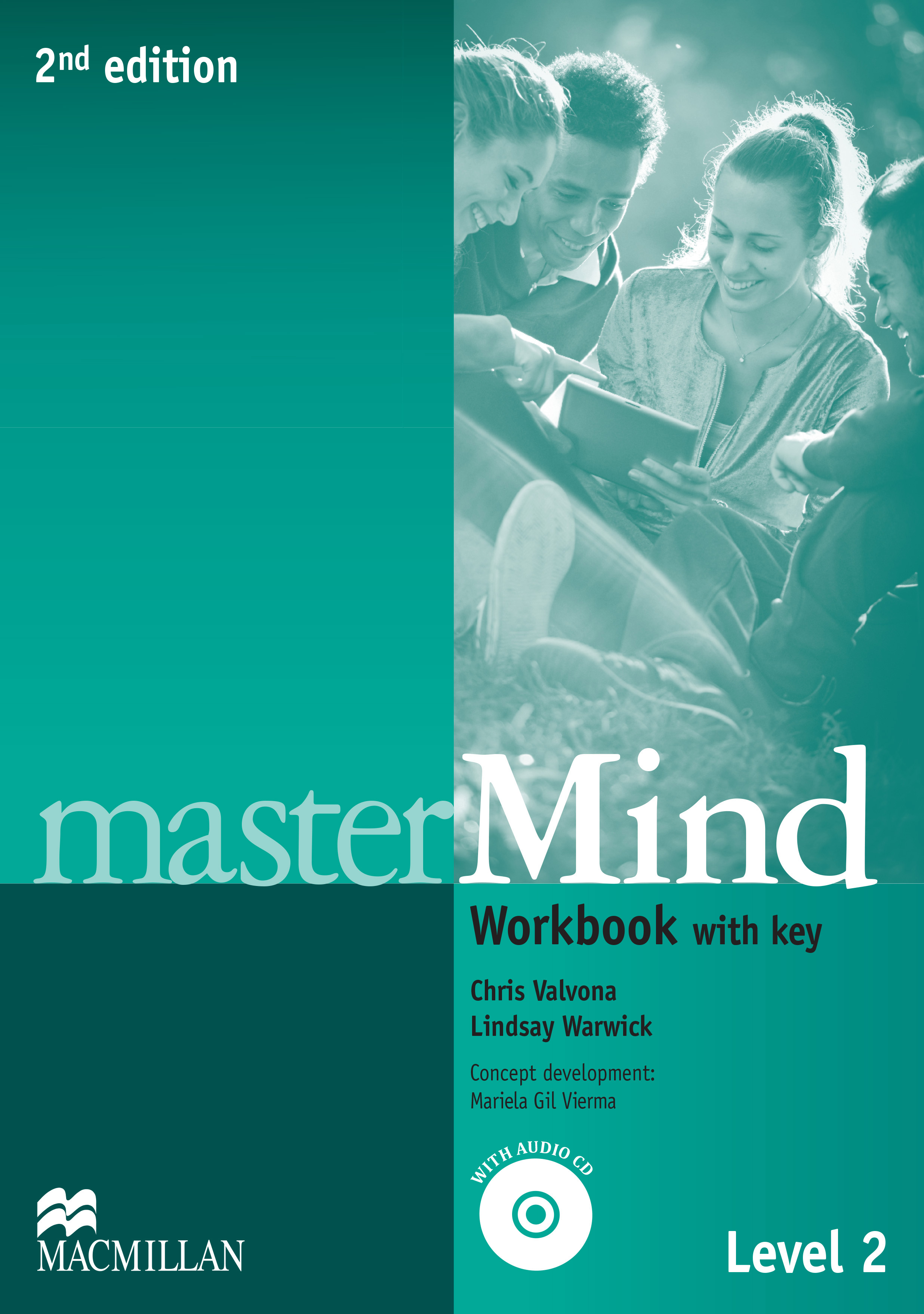 masterMind 2nd Edition Level 2 Workbook and CD Pack with key