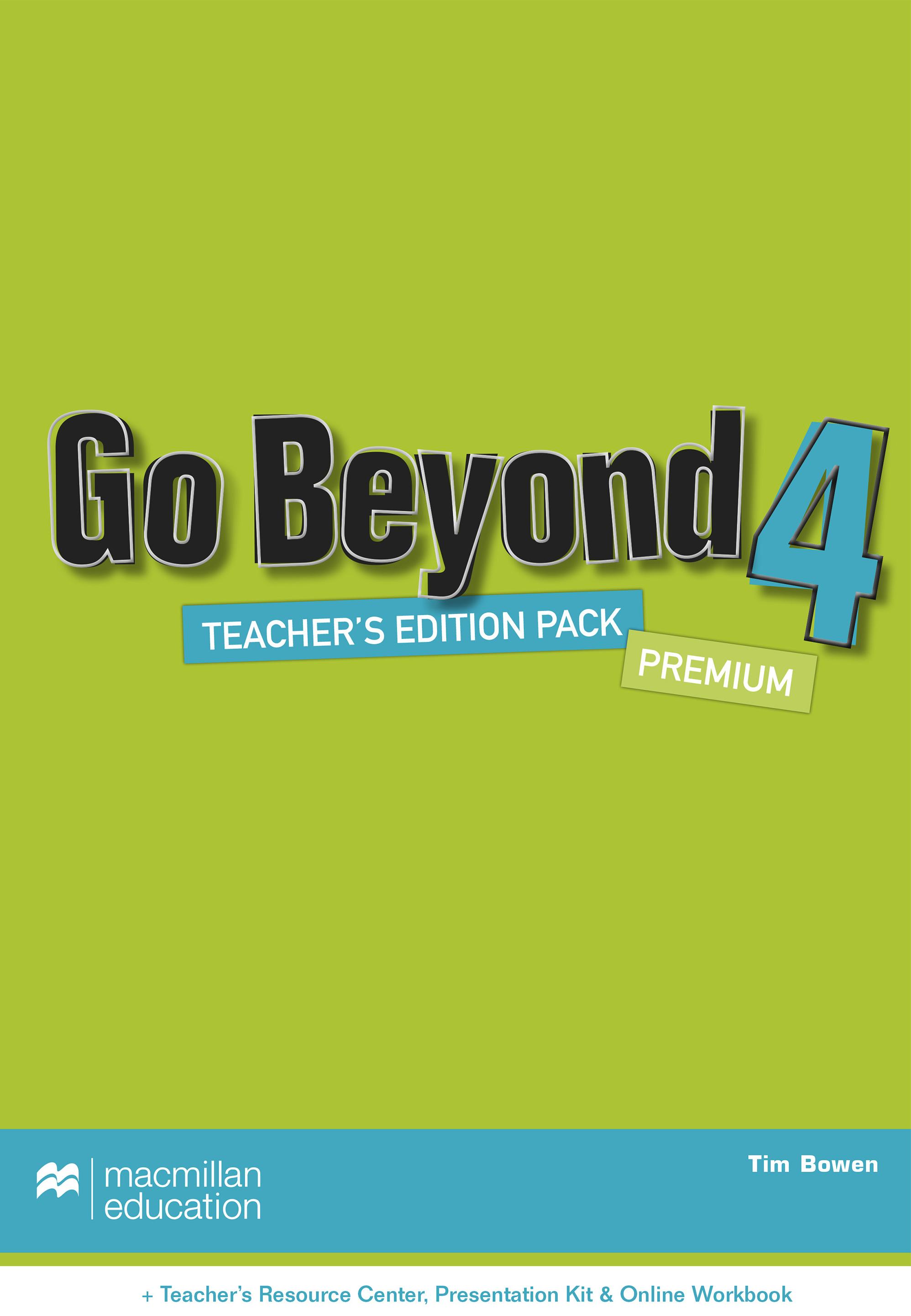 Go Beyond Level 4 Teacher