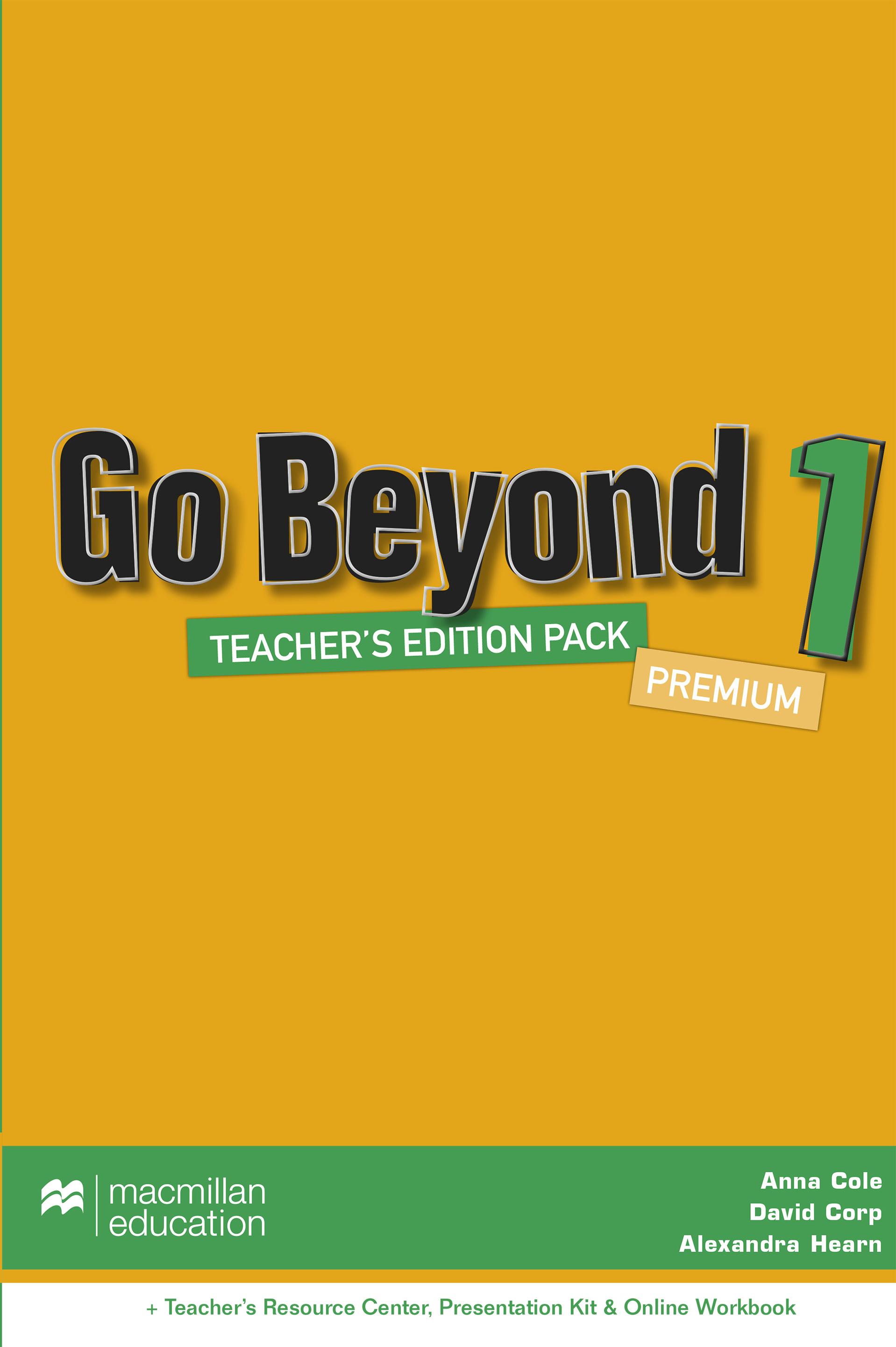 Go Beyond Level 1 Teacher
