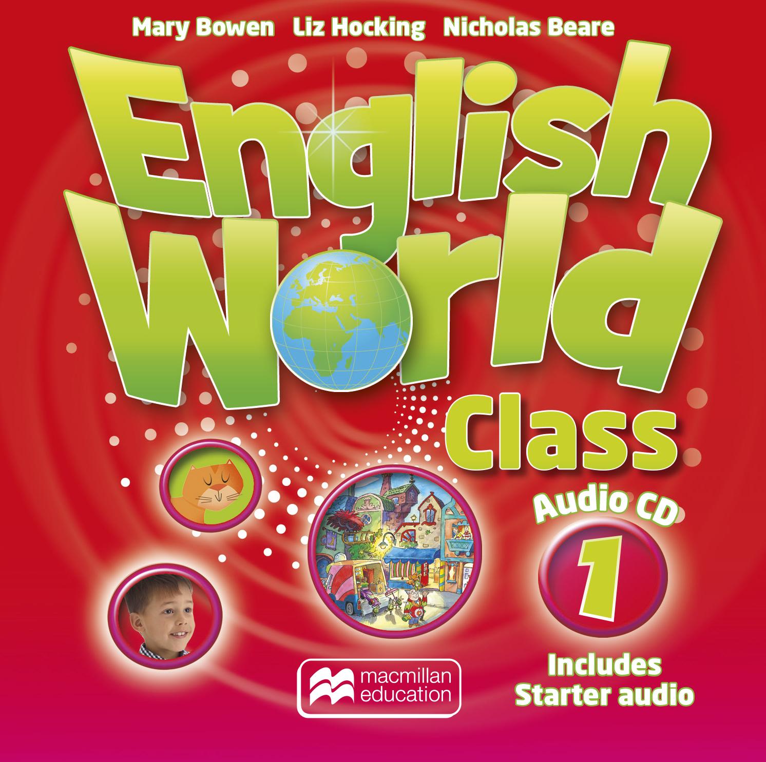 English World Class Level 1 Audio CD
