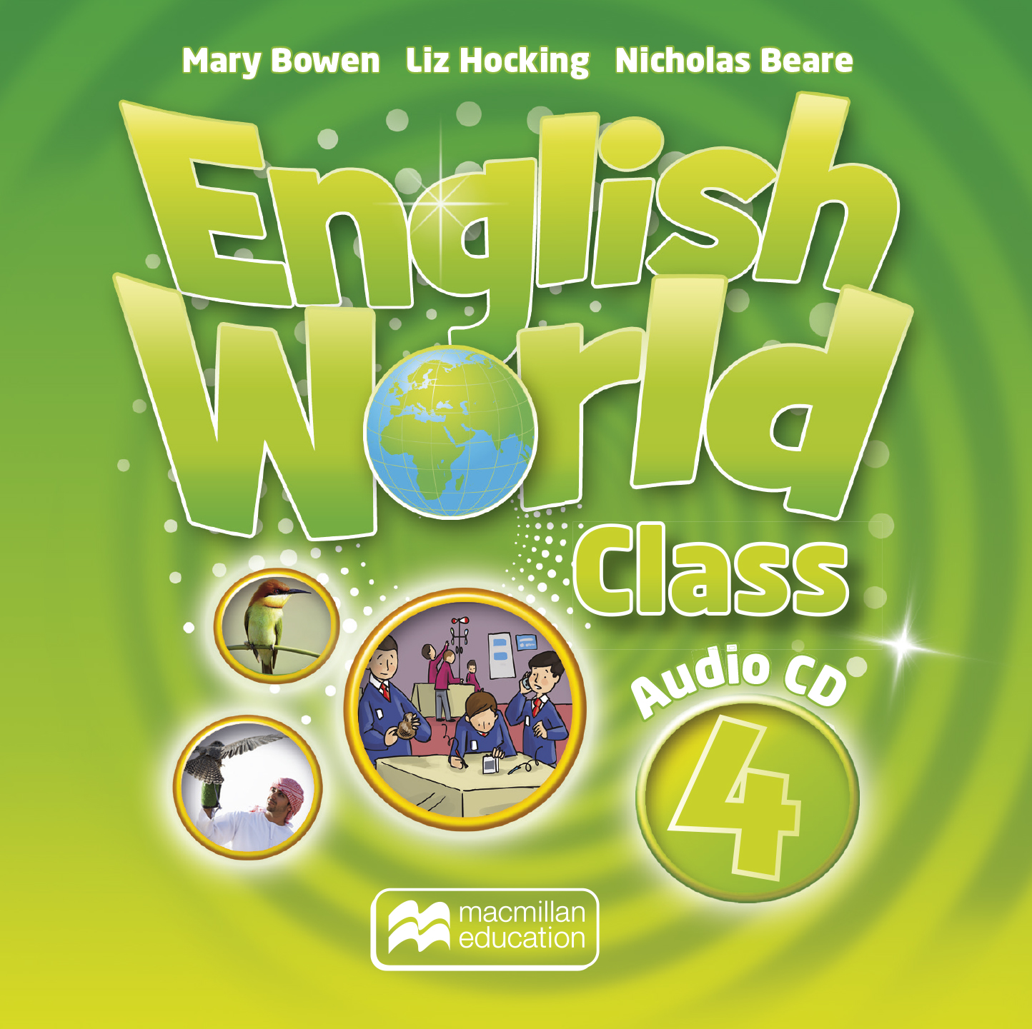 English World Class Level 4 Audio CD