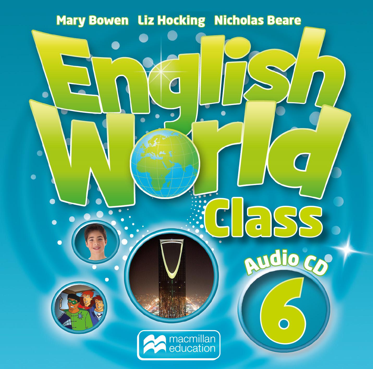 English World Class Level 6 Audio CD