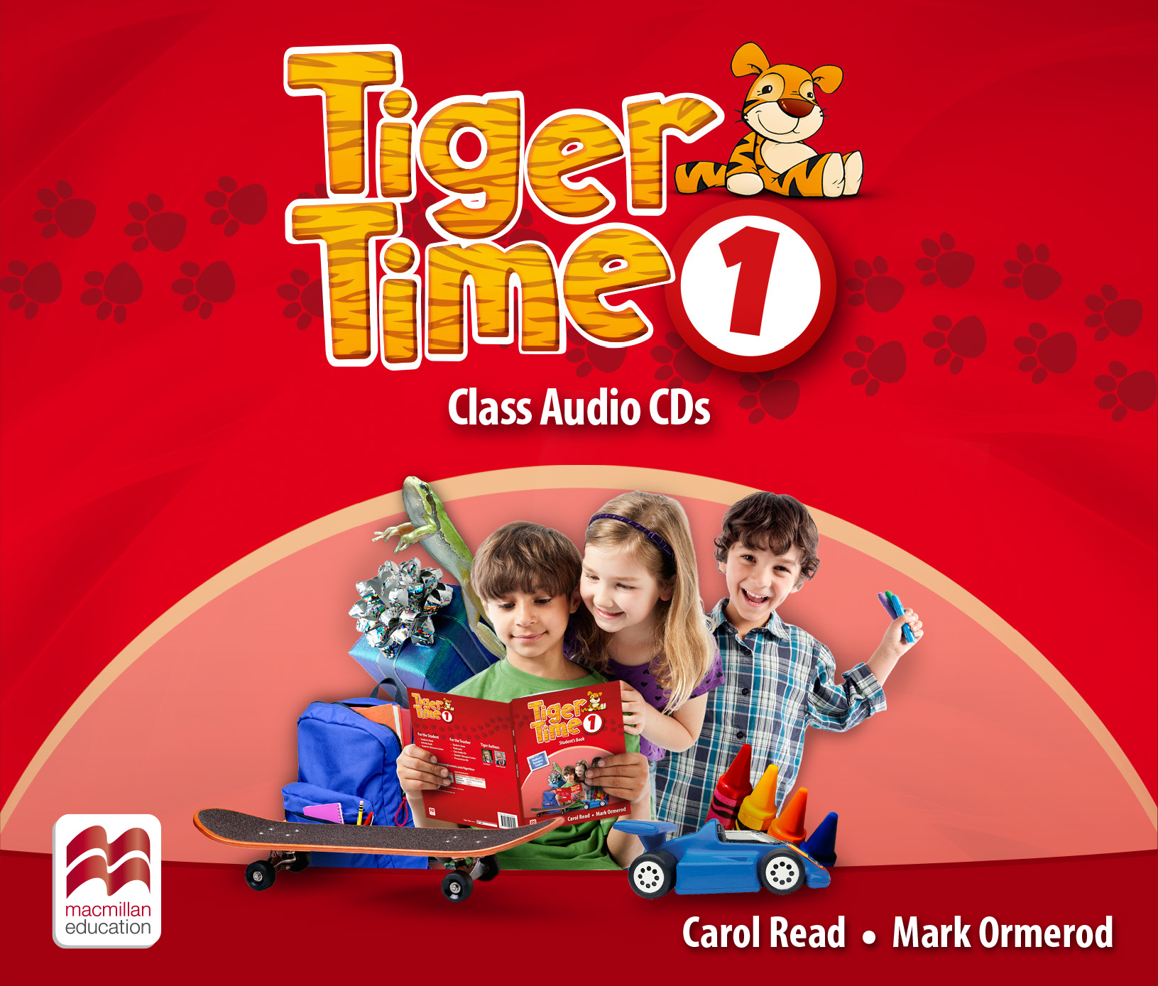 Tiger Time Level 1 Class Audio CDs