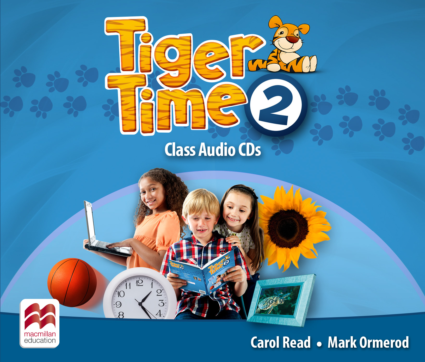 Tiger Time Level 2 Class Audio CDs