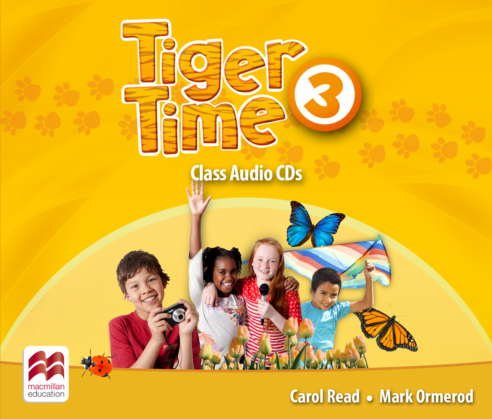 Tiger Time Level 3 Class Audio CDs