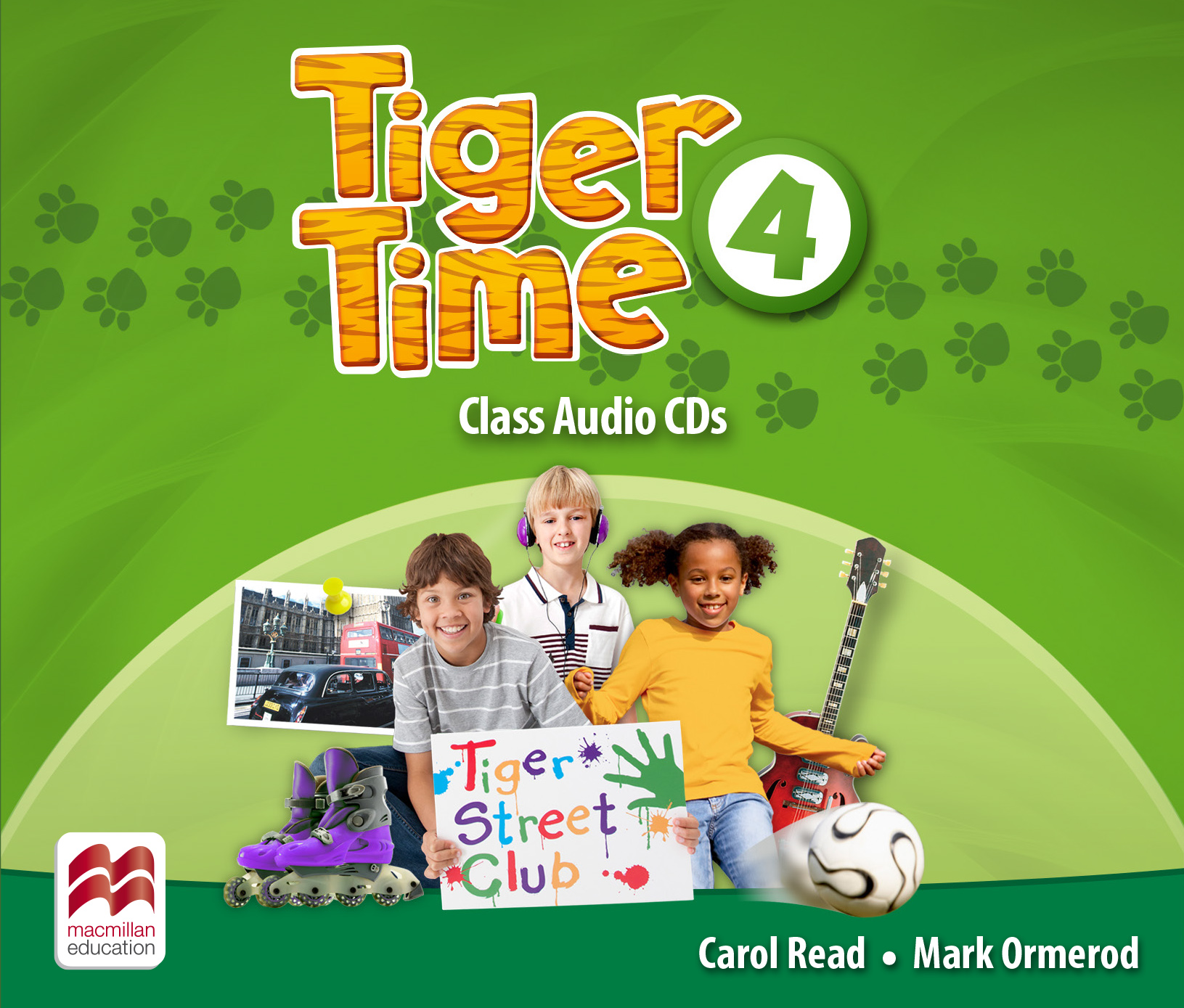 Tiger Time Level 4 Class Audio CDs