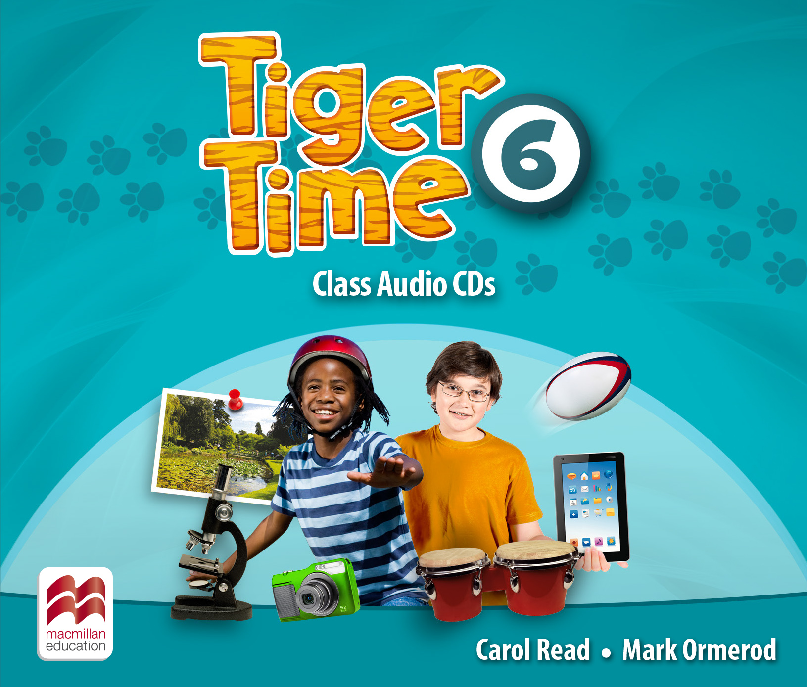 Tiger Time Level 6 Class Audio CDs
