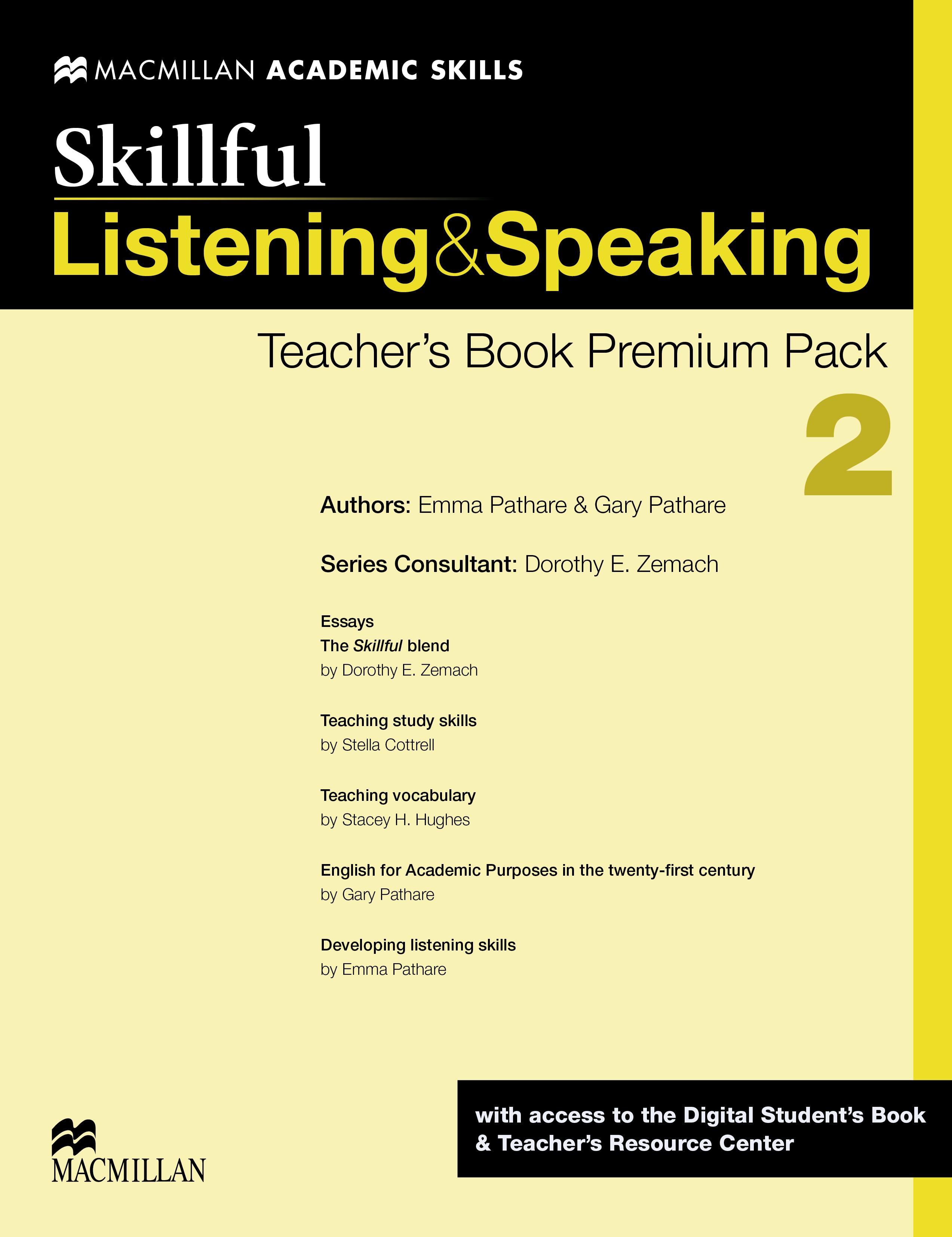 Skillful Level 2 Listening & Speaking Teacher