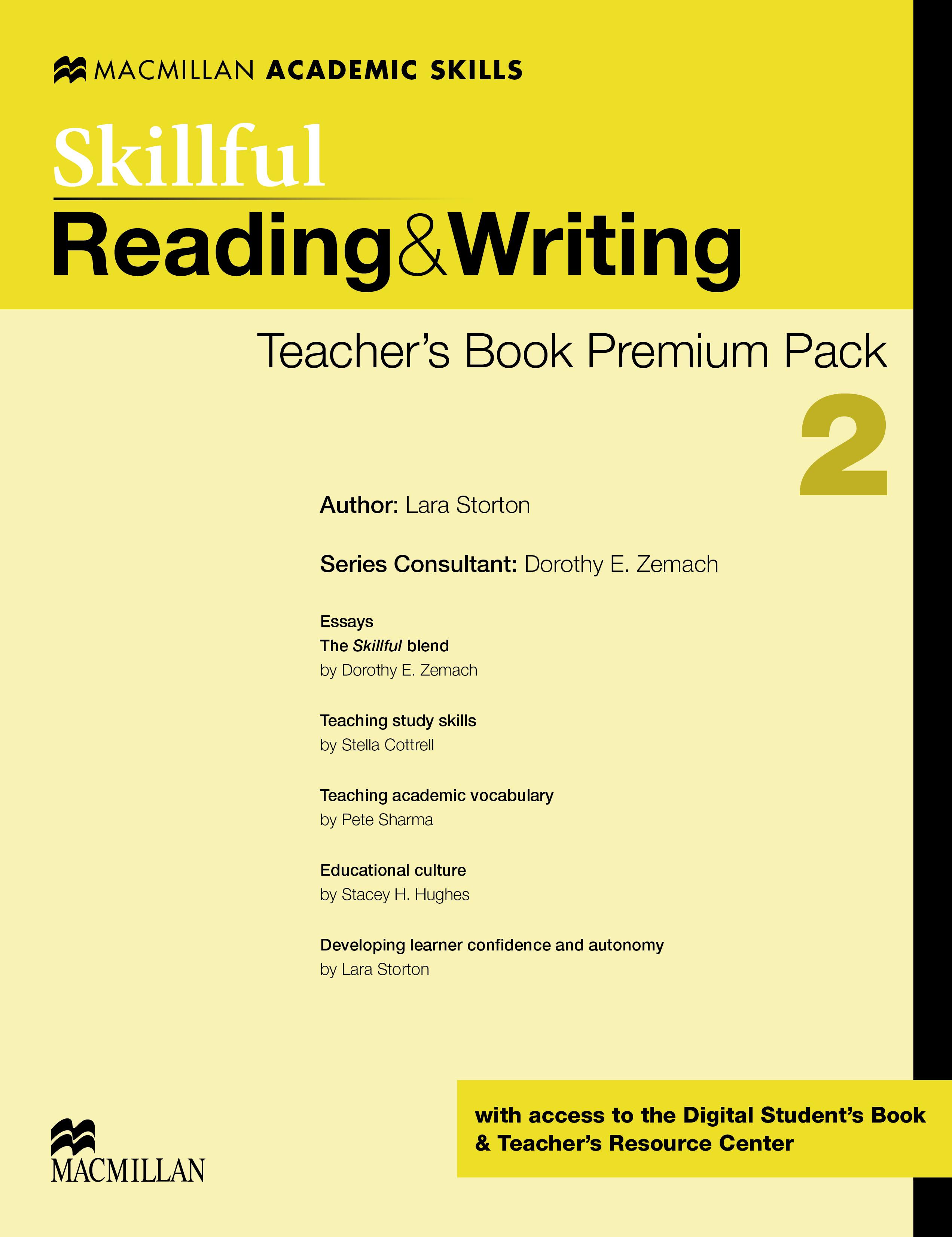 Skillful Level 2 Reading & Writing Teacher
