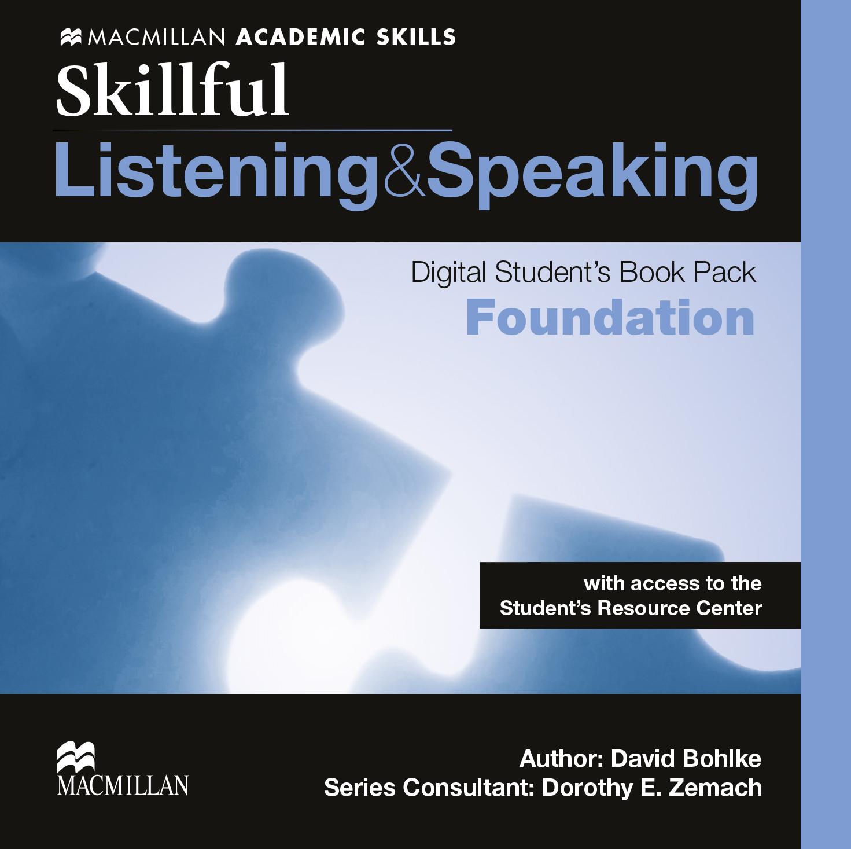 Skillful Foundation Level Listening & Speaking Digital Student