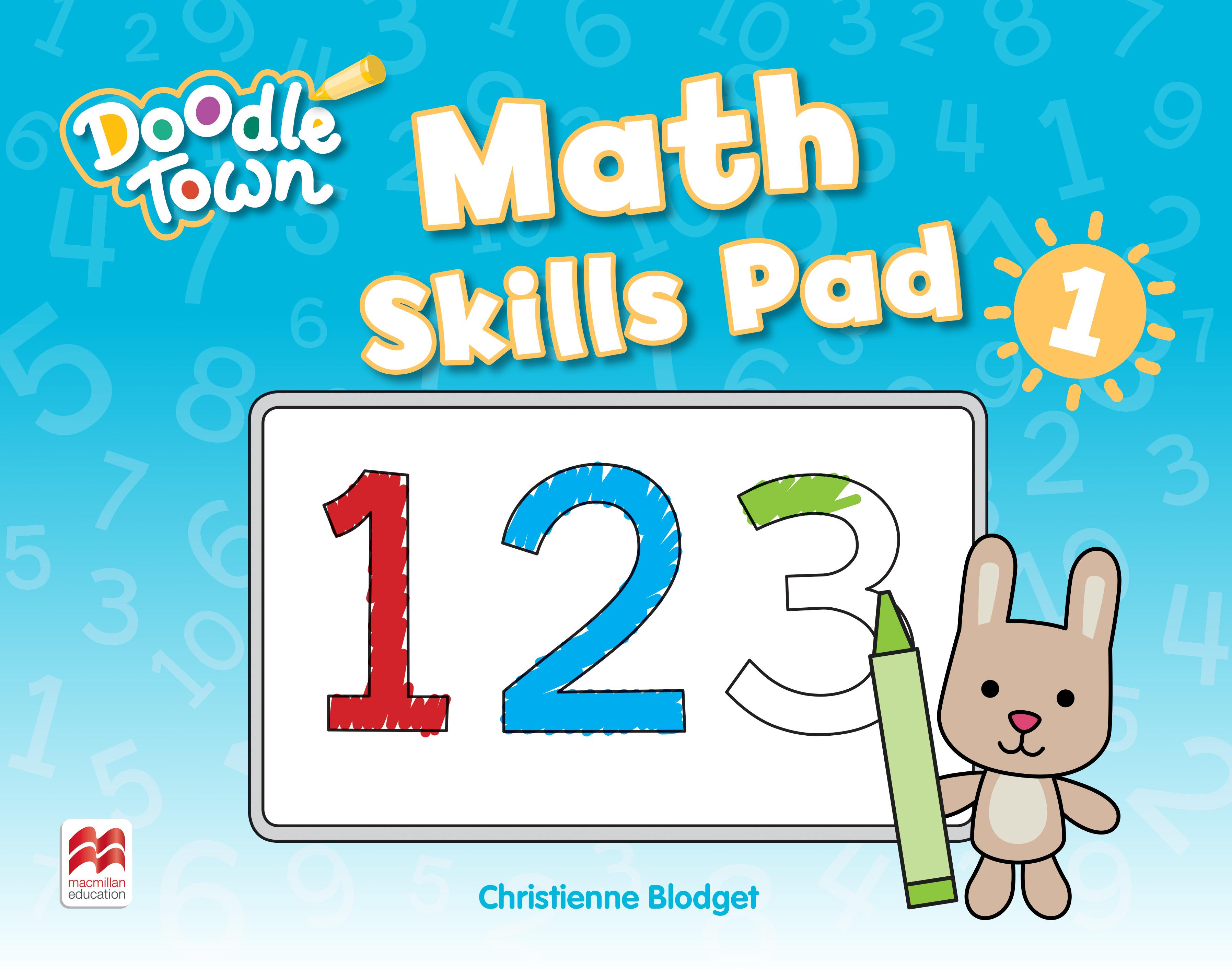 Doodle Town Level 1 Math Skills Pad