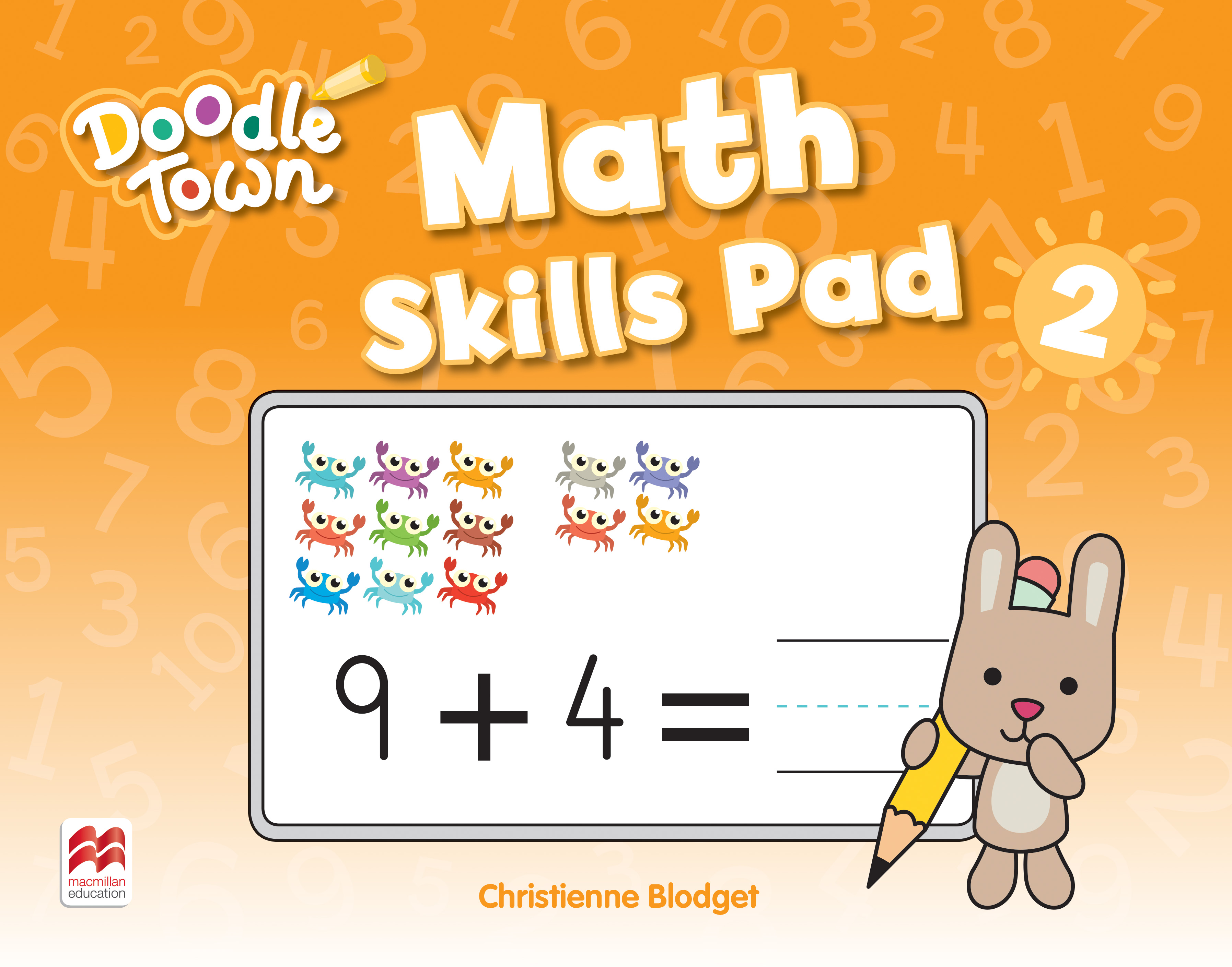 Doodle Town Level 2 Math Skills Pad