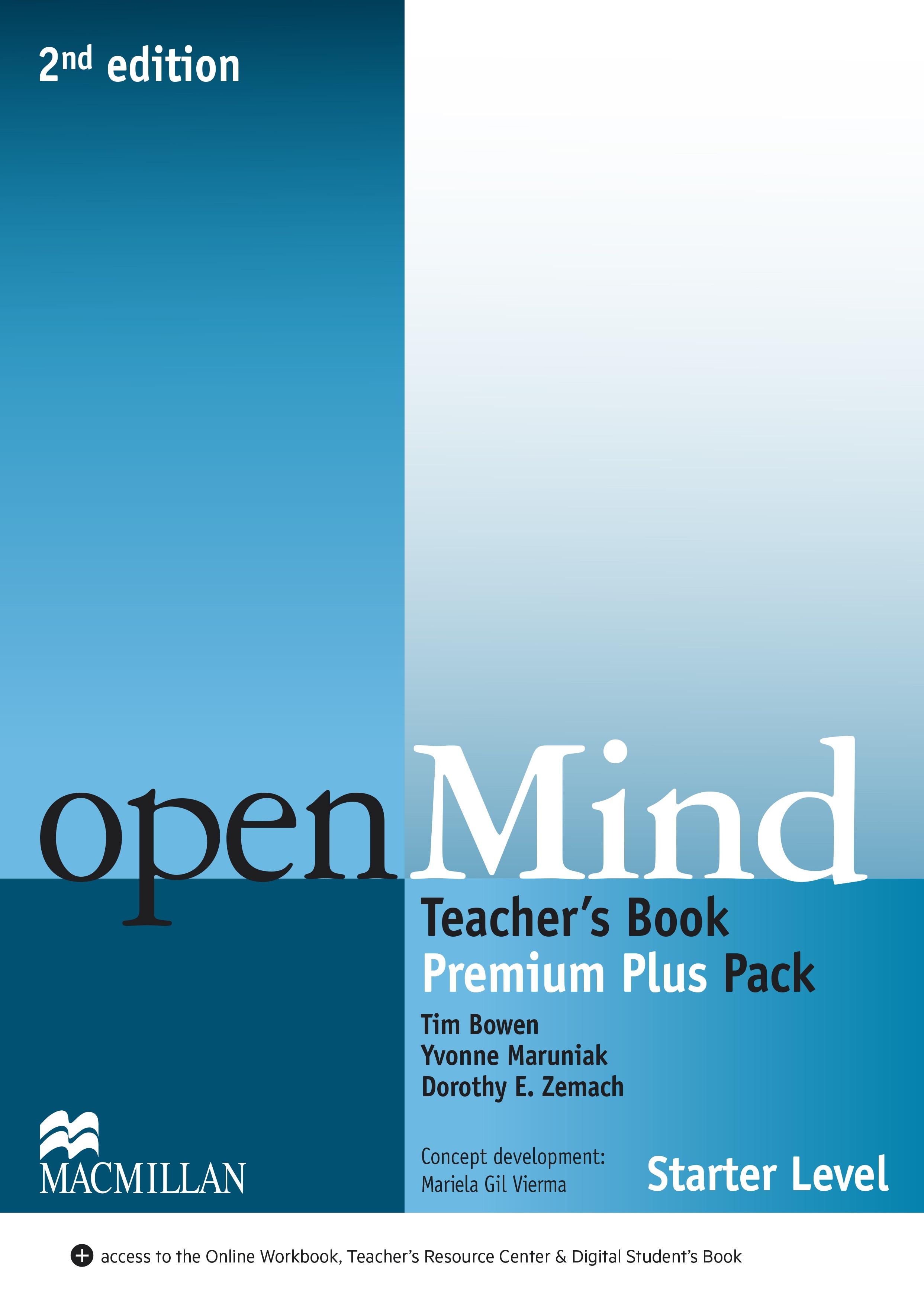 openMind 2nd Edition Starter Level Teacher