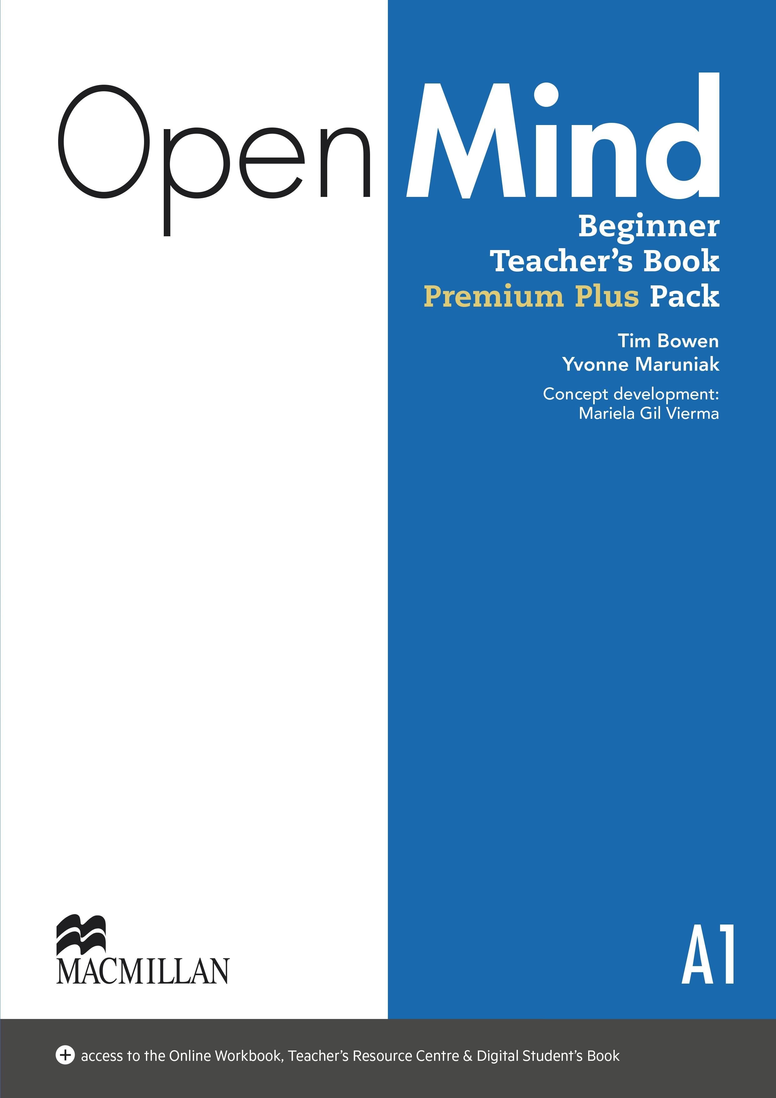 Open Mind Beginner Teacher