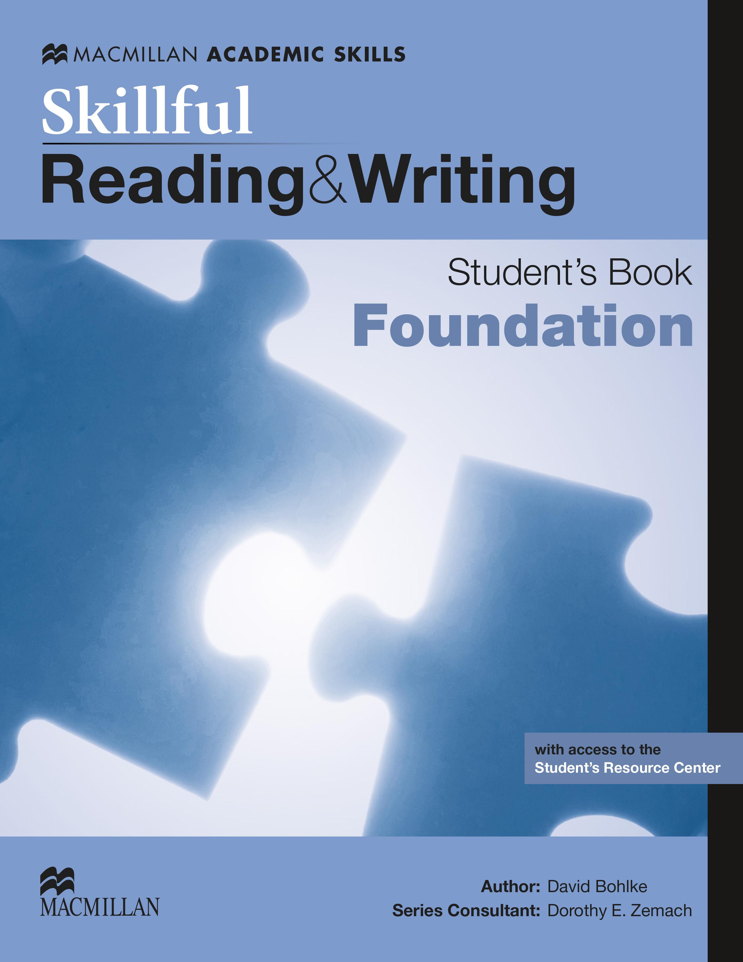 Skillful Foundation Level Reading & Writing Student