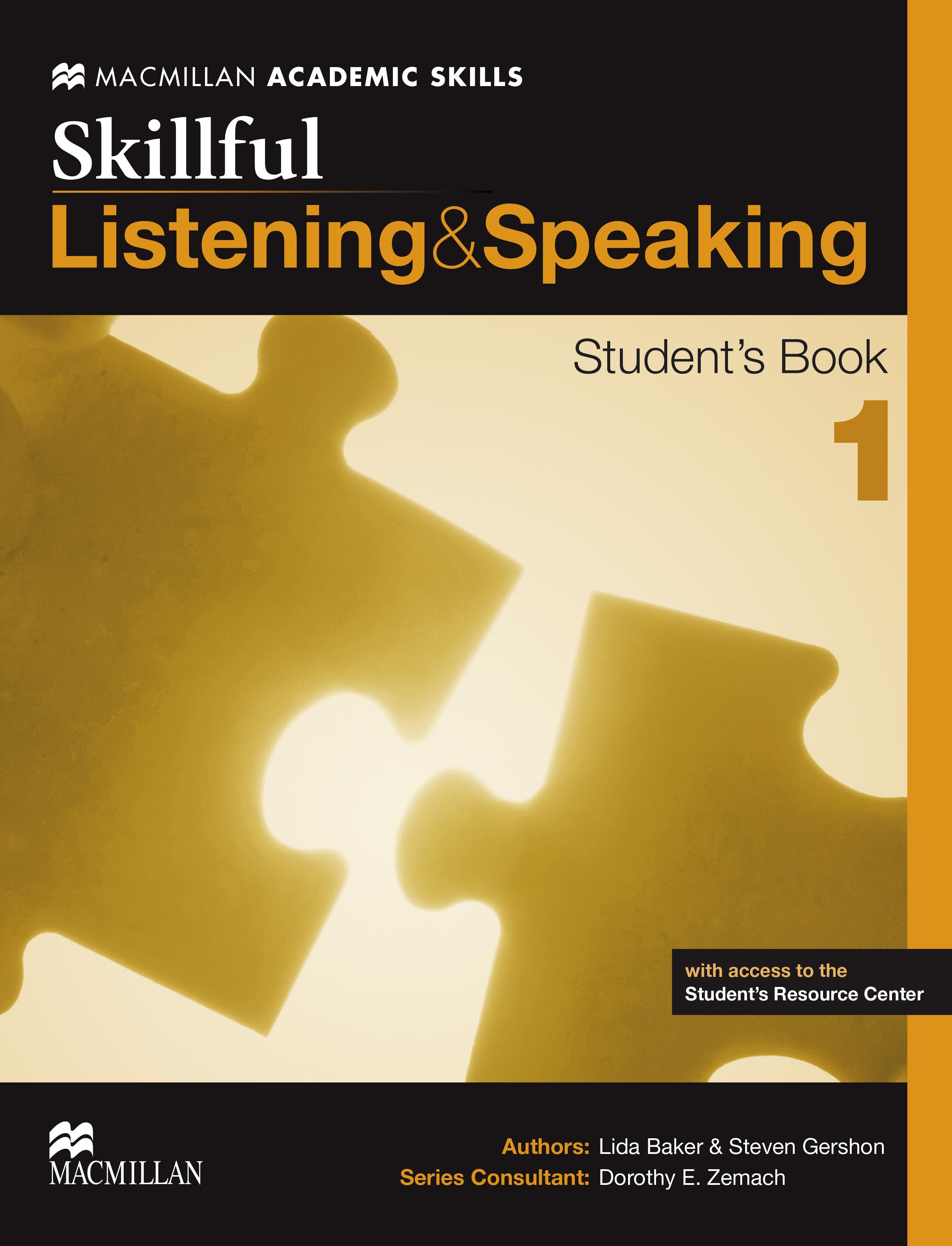 Skillful Level 1 Listening & Speaking Student