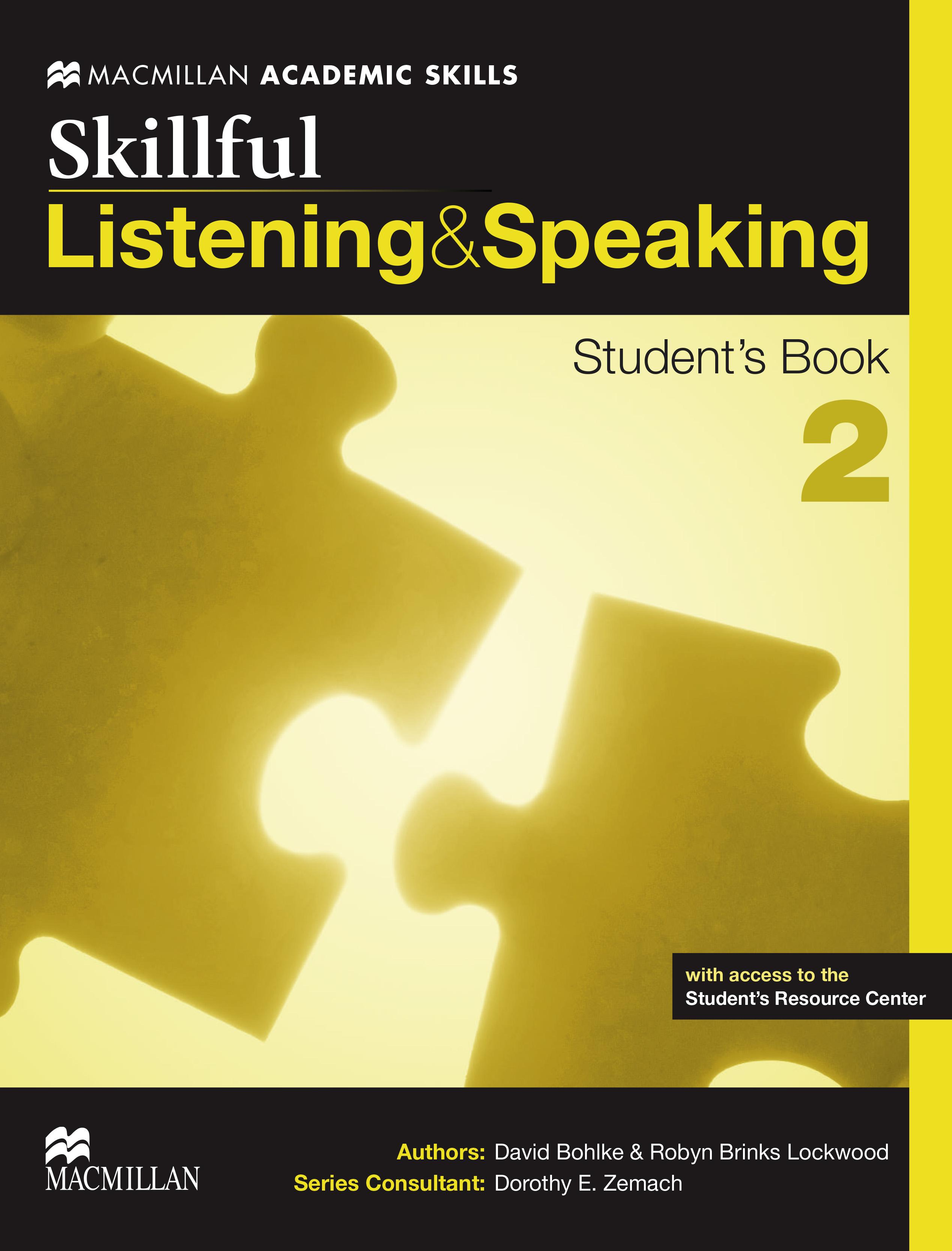 Skillful Level 2 Listening & Speaking Student
