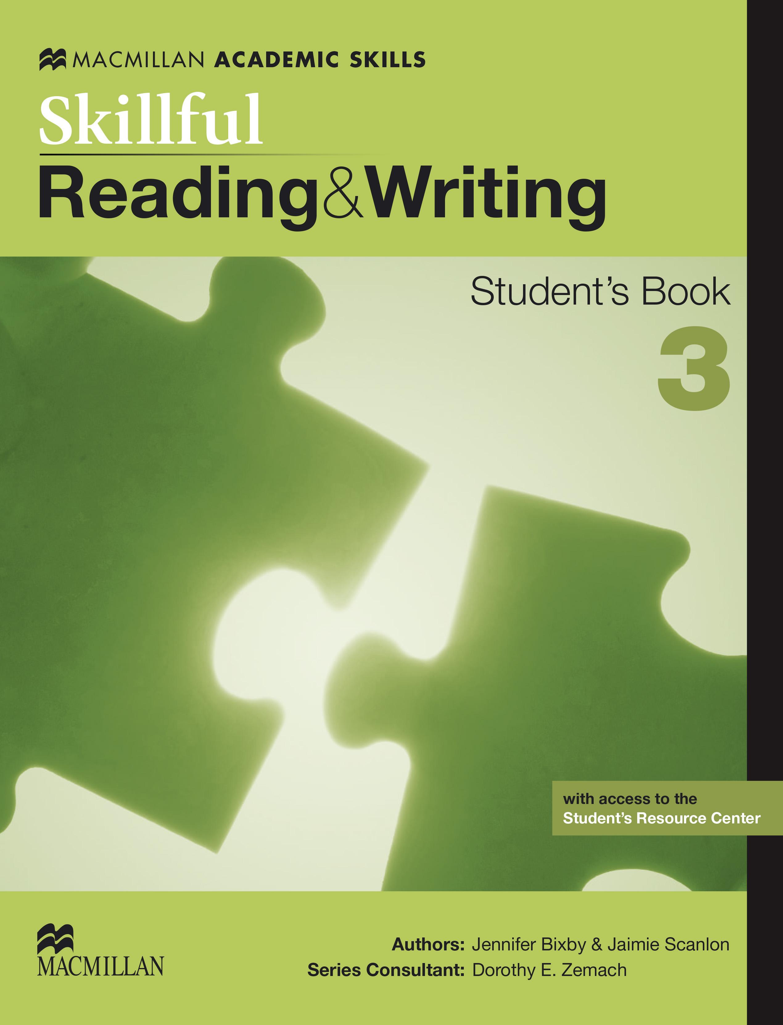 Skillful Level 3 Reading & Writing Student