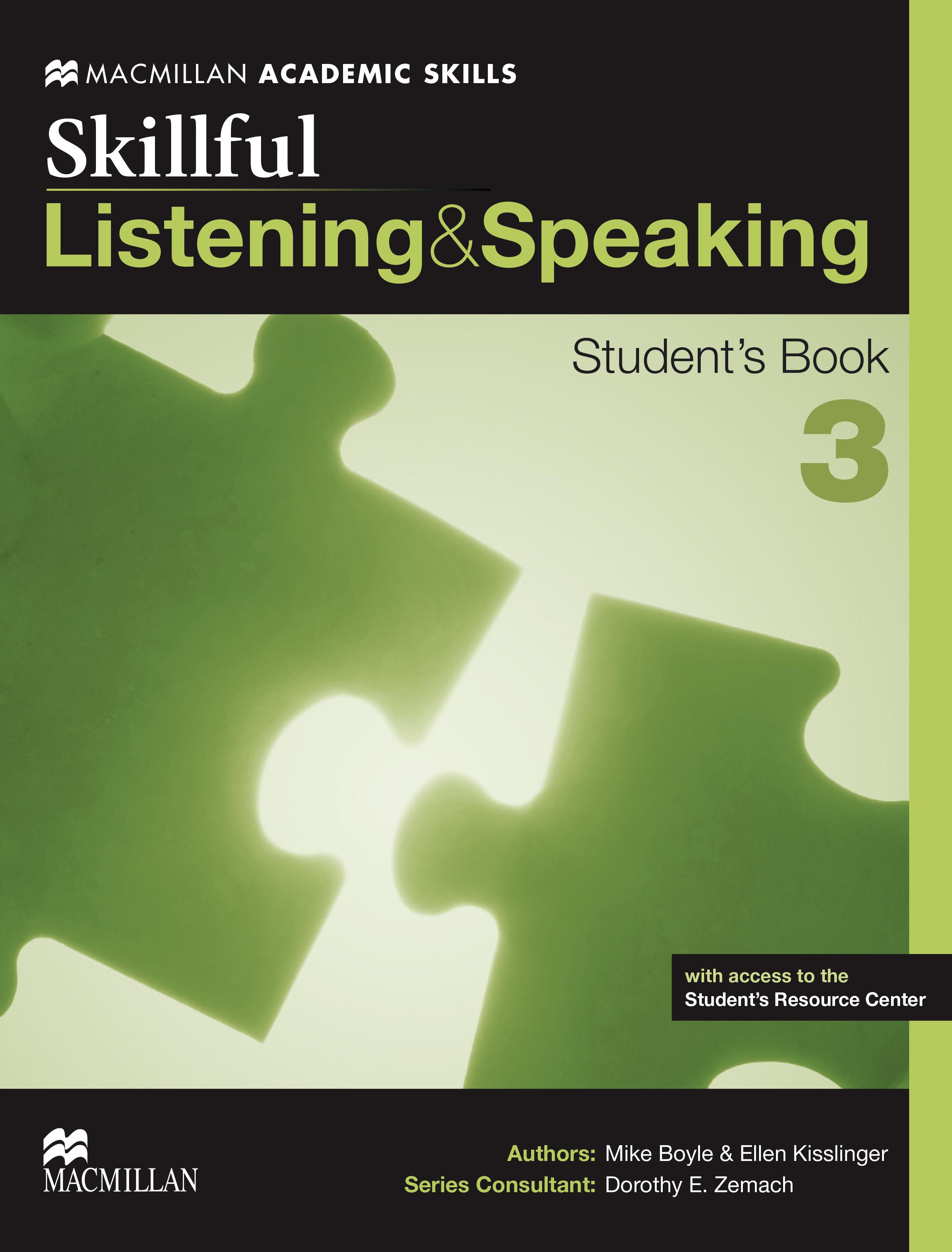 Skillful Level 3 Listening & Speaking Student