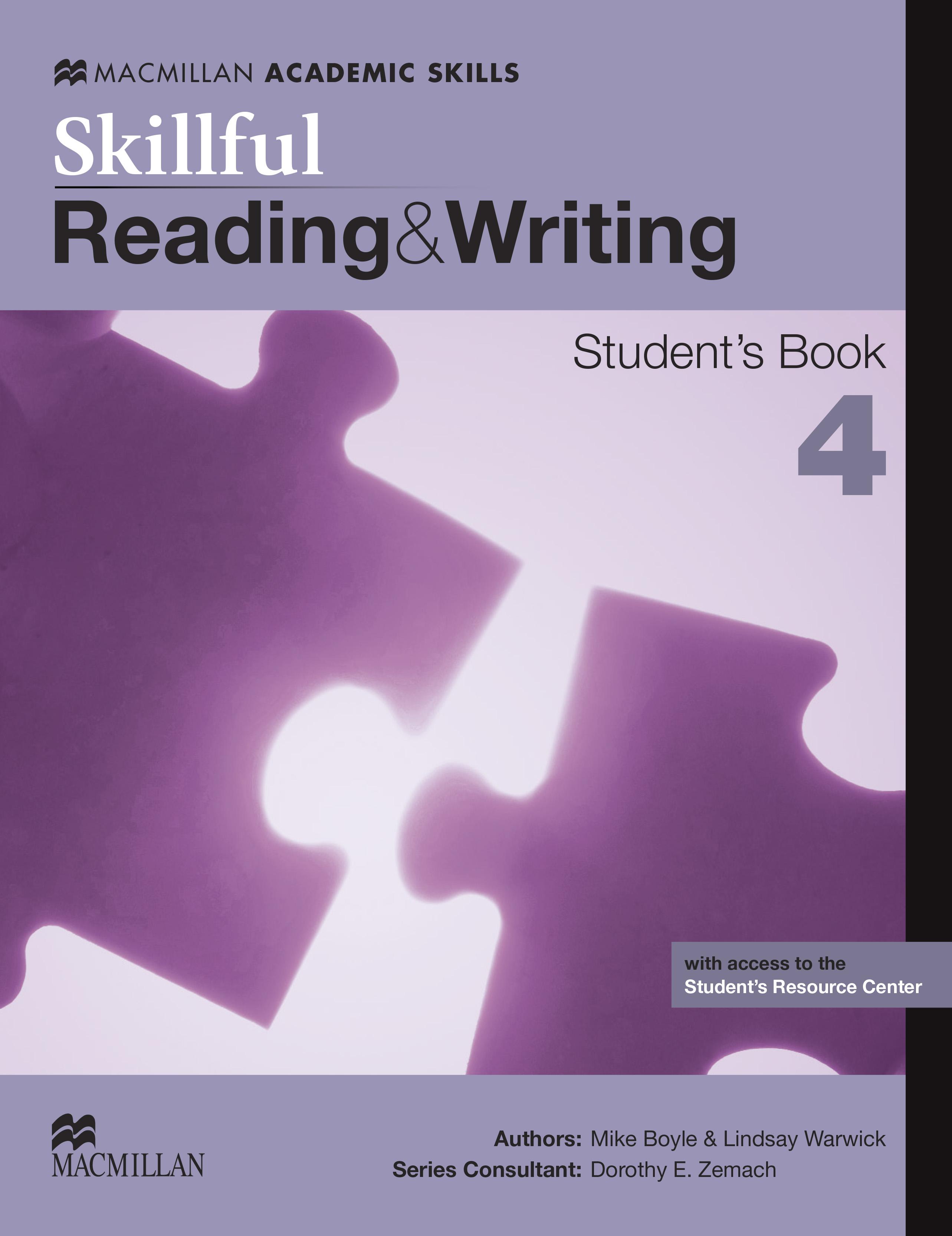 Skillful Level 4 Reading & Writing Student