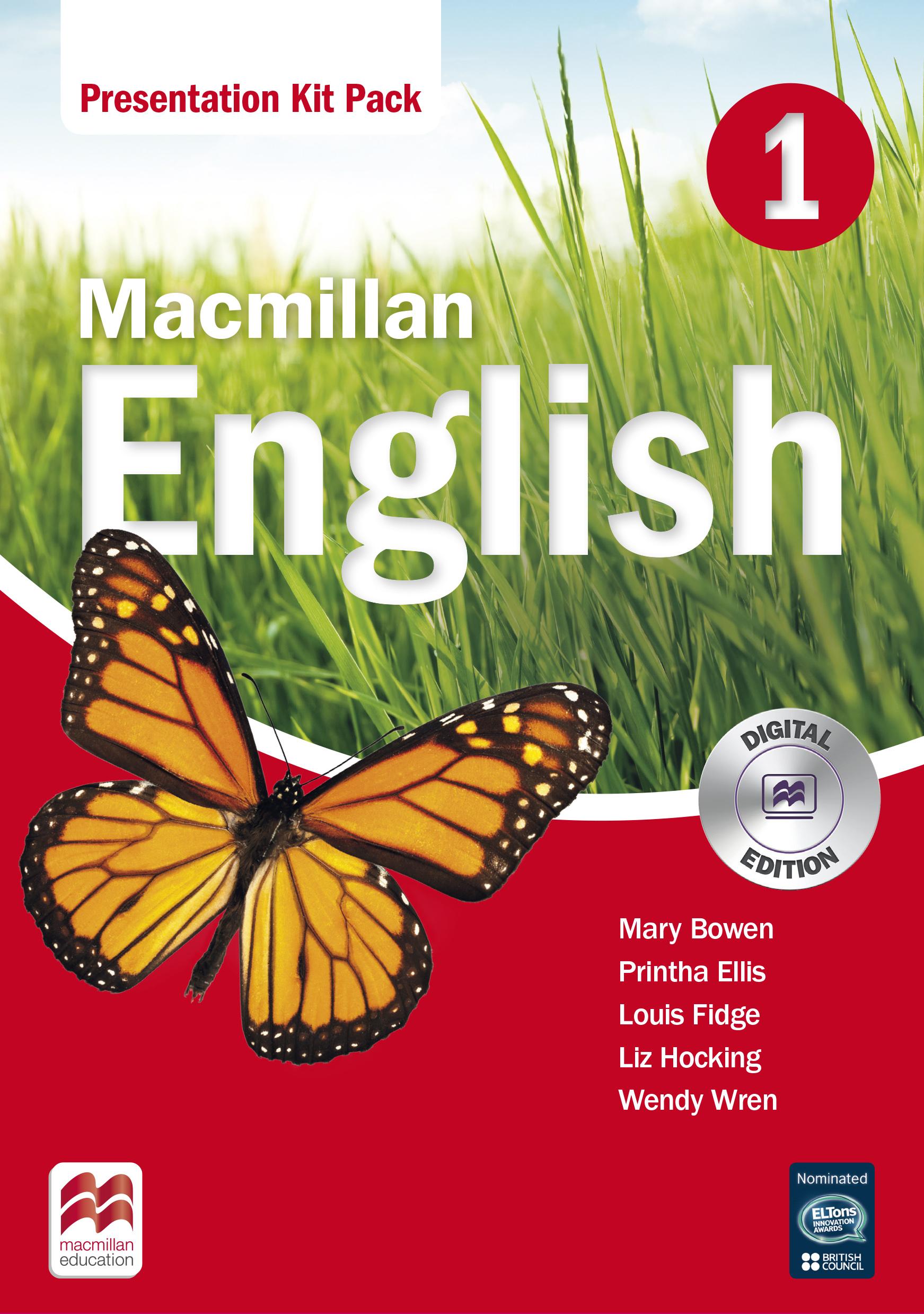 Macmillan English 1 Presentation Kit Pack