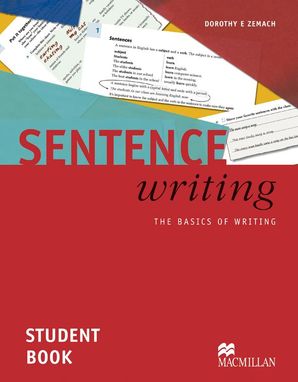 Sentence Writing Student