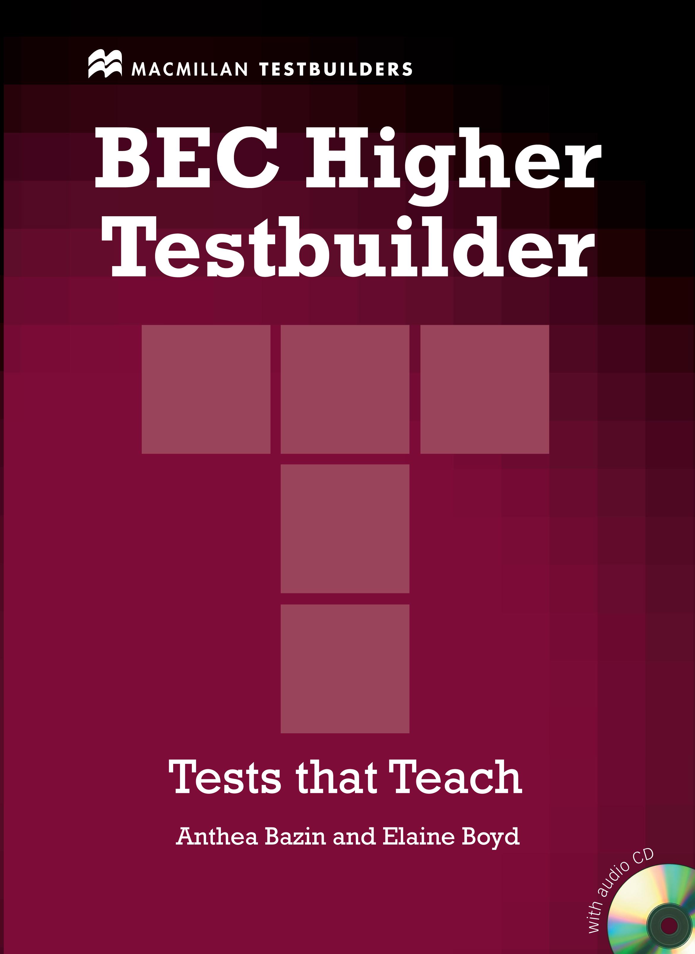 BEC Testbuilder Higher + Audio CD Pack