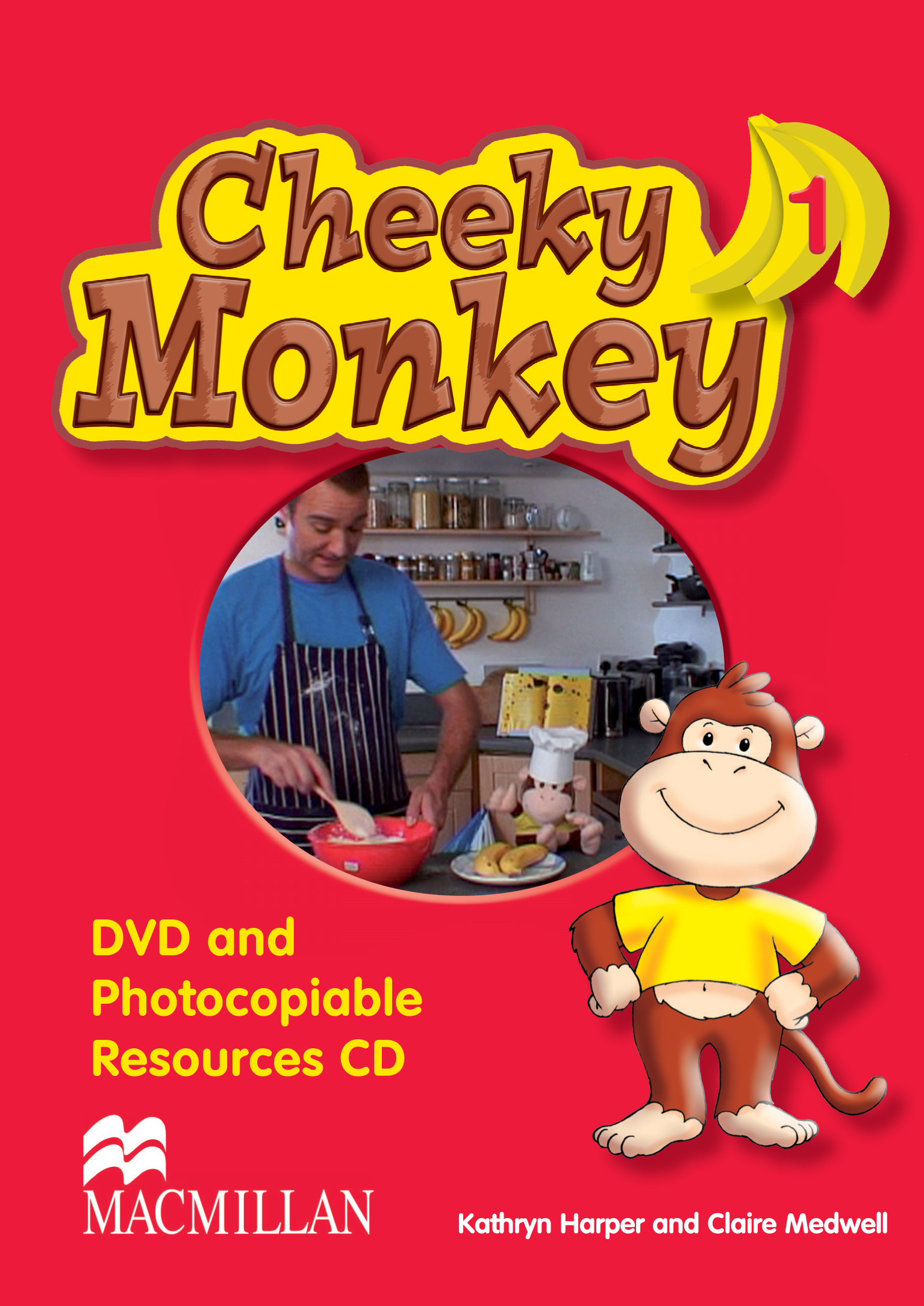 Cheeky Monkey 1 DVD and Photocopiable CD