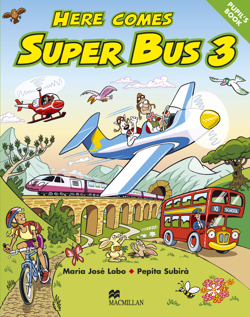 Here Comes Super Bus 3 Pupil