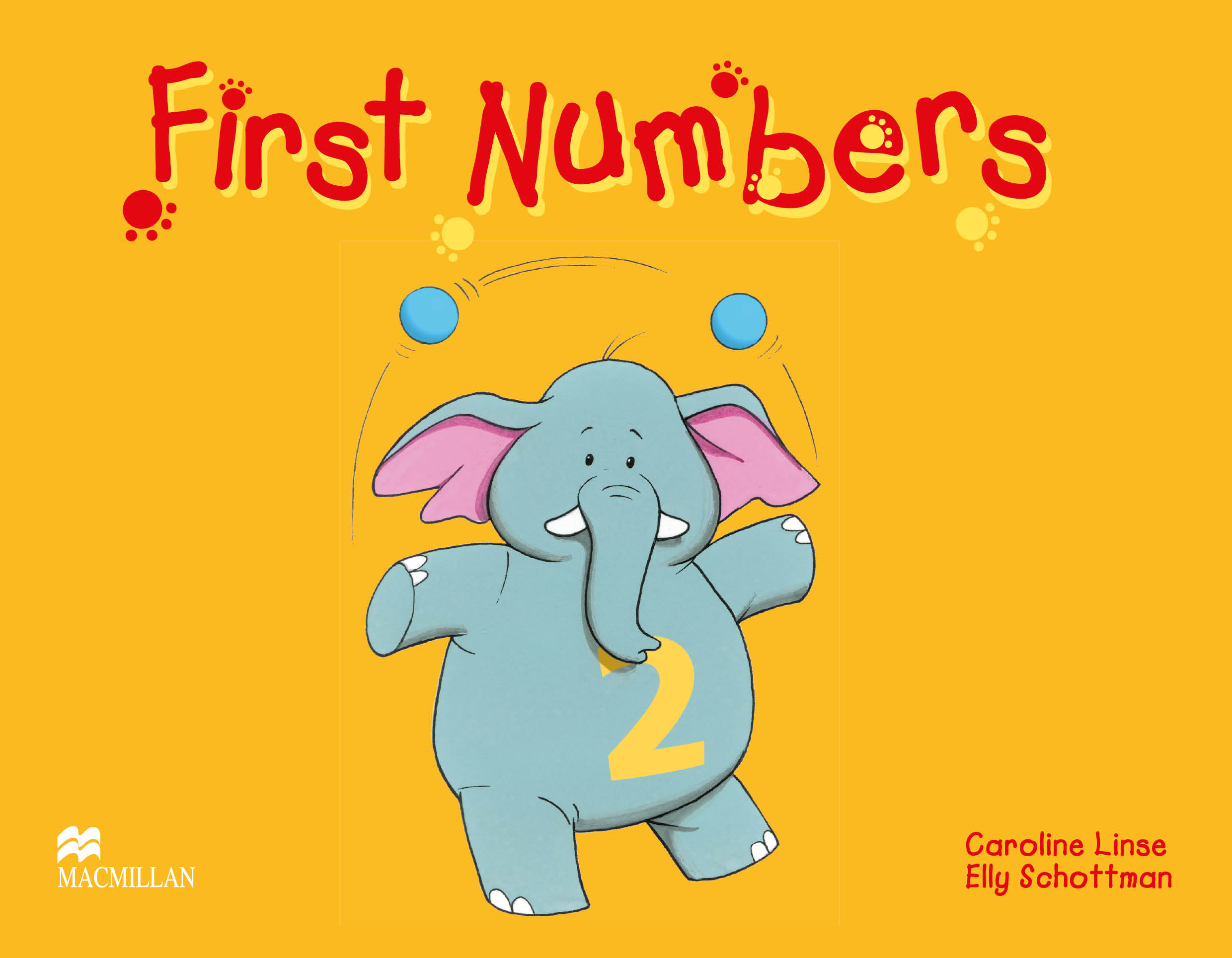 Fingerprints 2 First Numbers Book